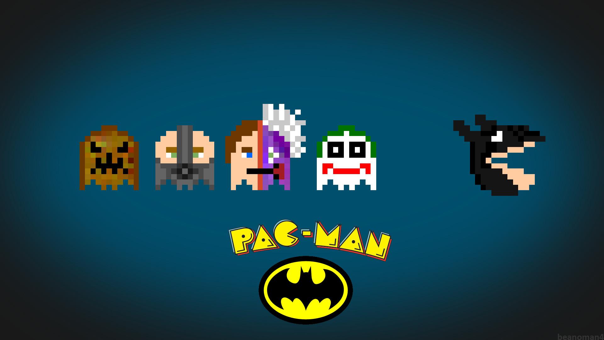 Res: 1920x1080, Pac Man Wallpaper