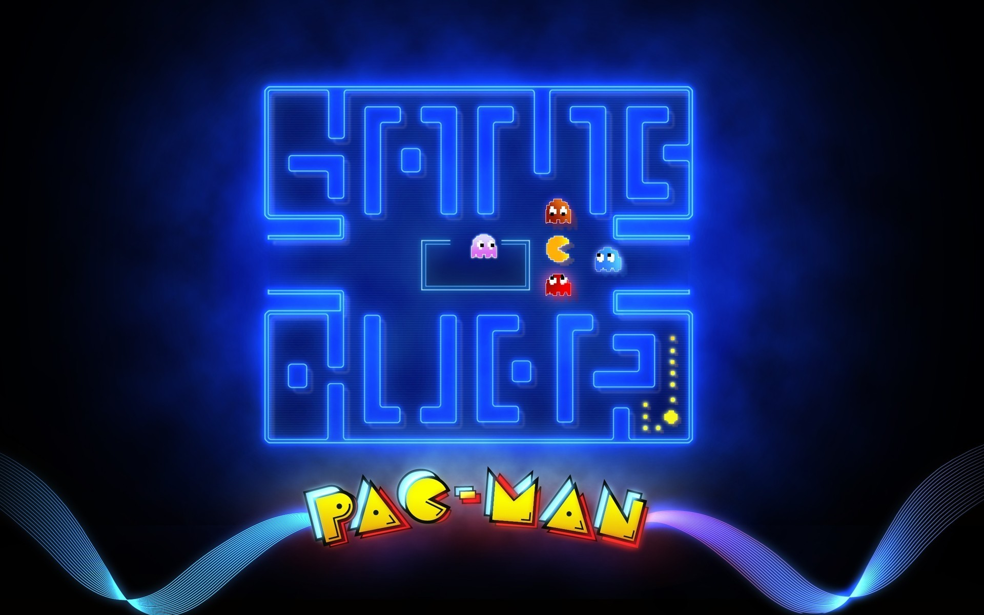 Res: 1920x1200, Pac-Man wallpapers