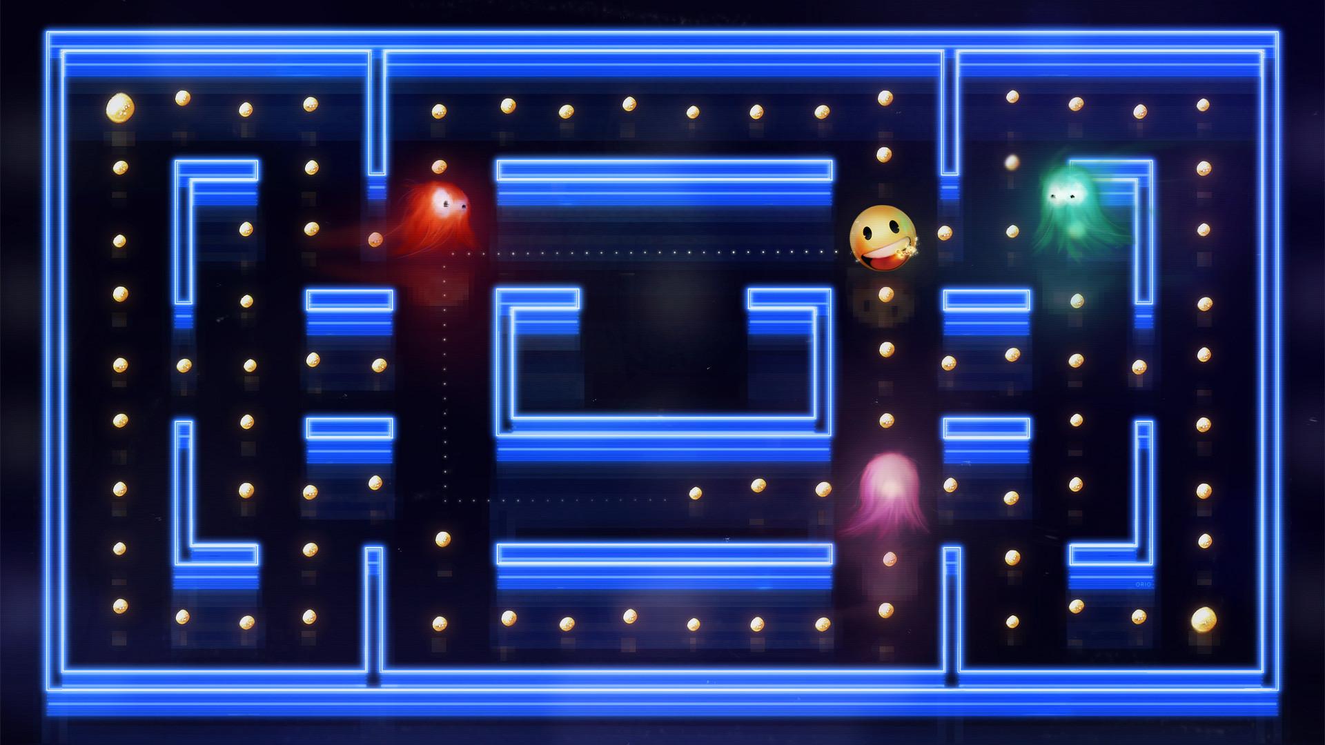 Res: 1920x1080,  Pac-Man HD Wallpaper  .