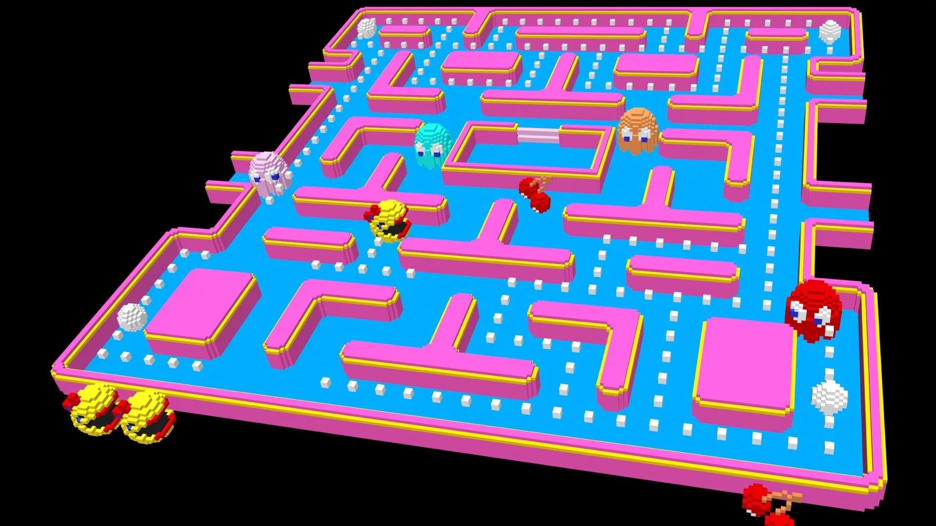 Res: 1920x1080, Pacman
