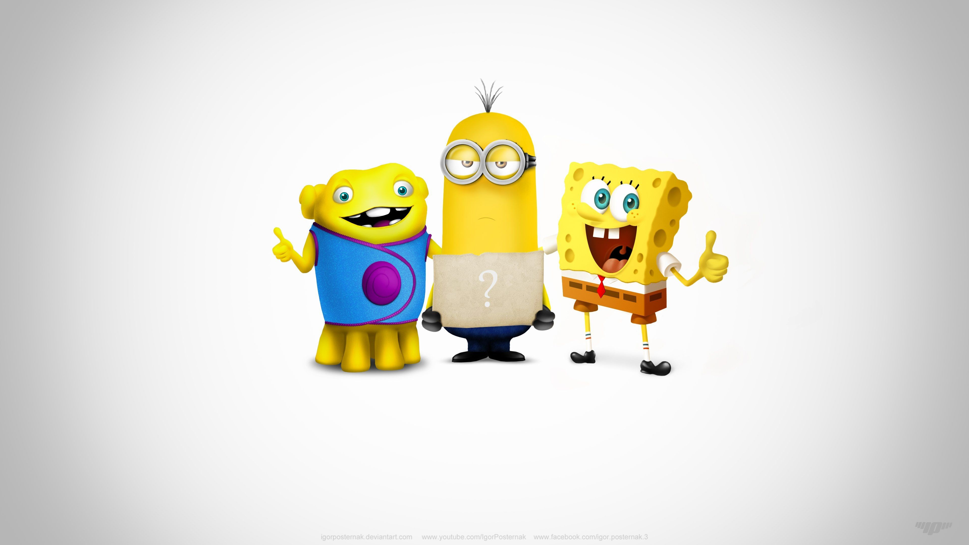Res: 3840x2160, funny spongebob wallpapers #819631