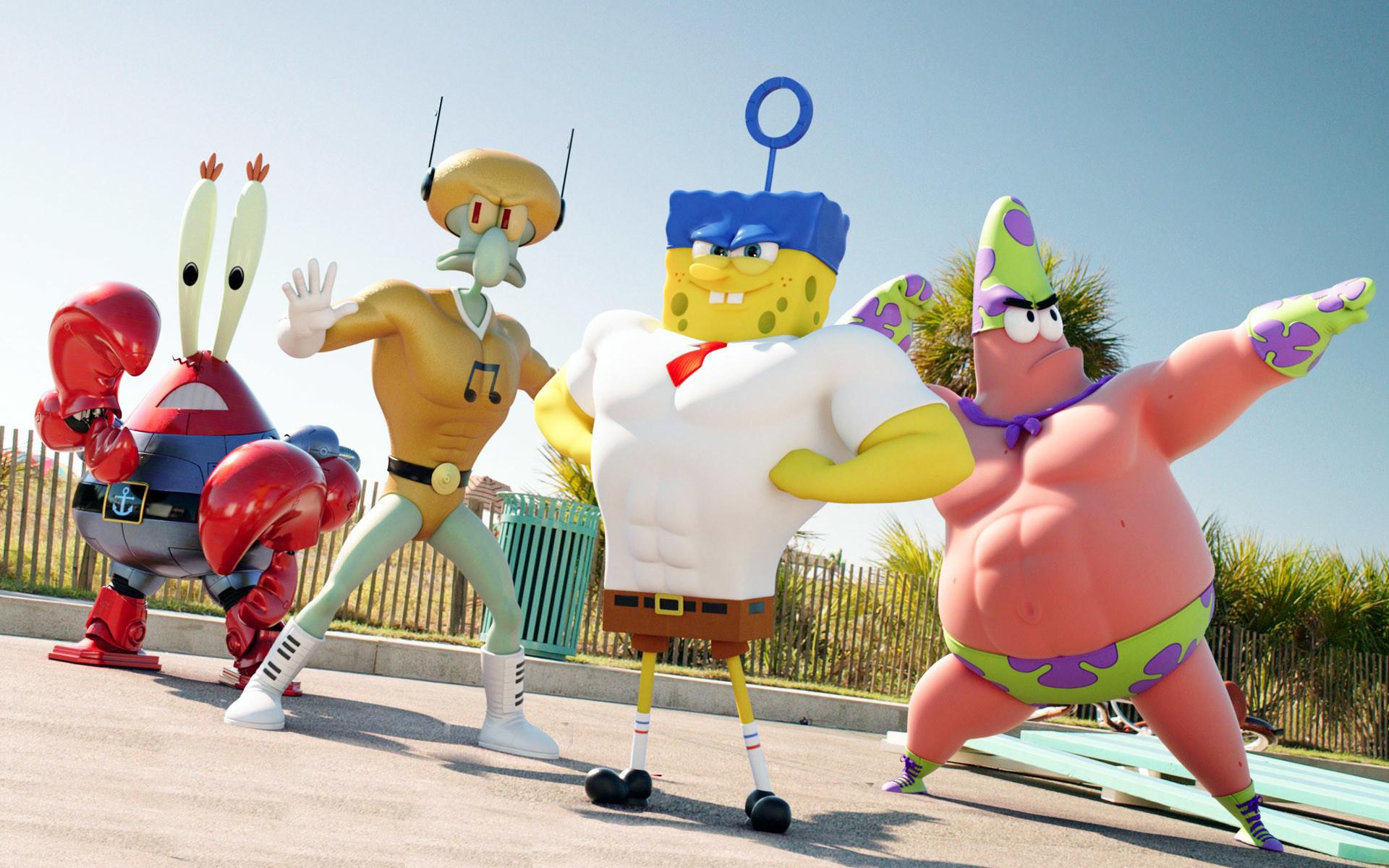 Res: 1920x1200, Spongebob and his friends