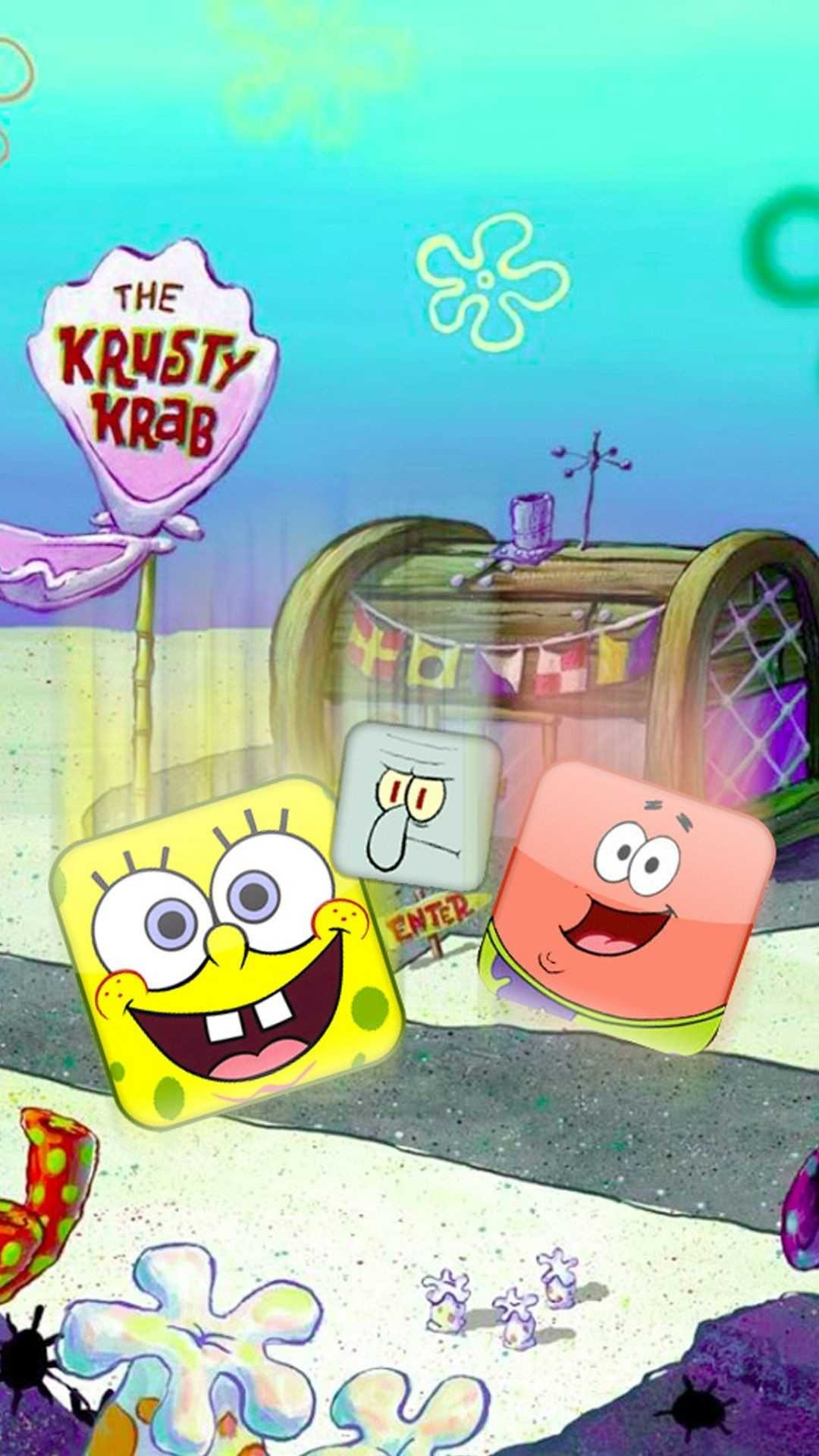 Res: 1080x1920, 1920x1080 HQ Resolution Spongebob - Wallpapers and Pictures – download for  free