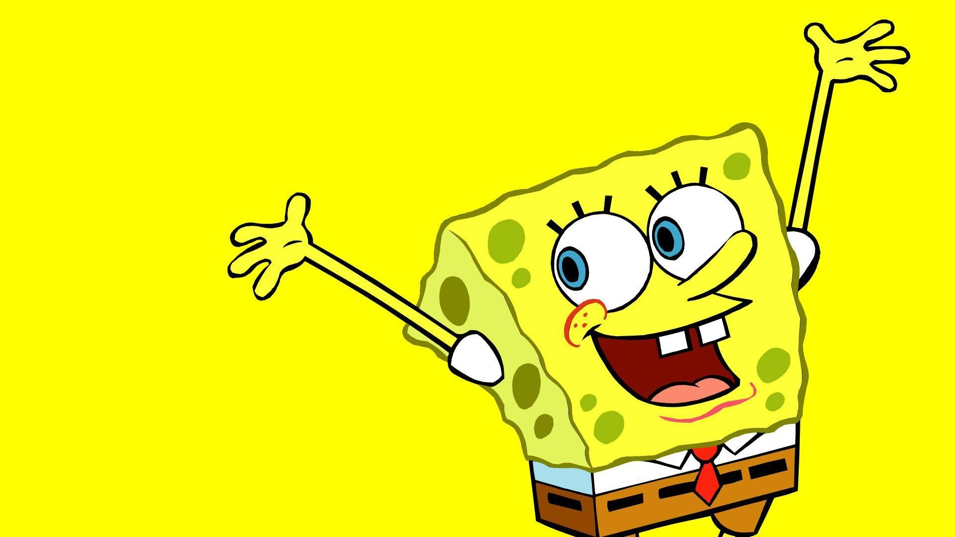 Res: 1920x1080, Funny Spongebob Wallpaper HD Background - ToObjects.
