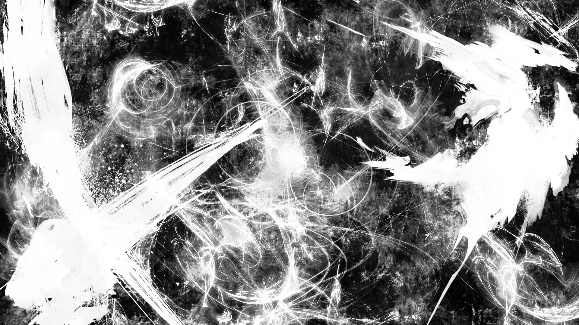 Res: 1920x1080, Black And White Abstract Drawings