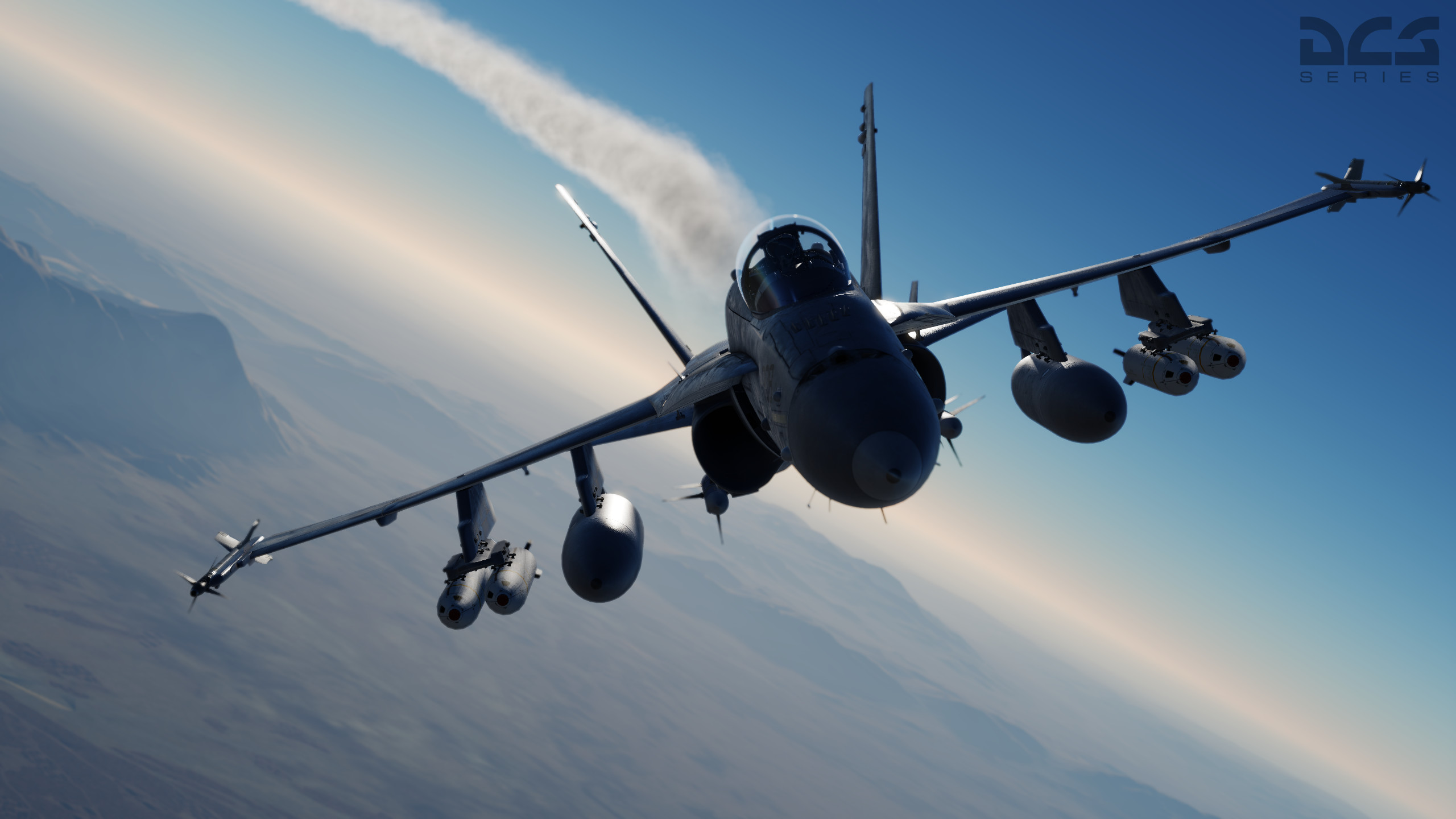 Res: 2560x1440, Dcs Hornet 3 No9 Squadron