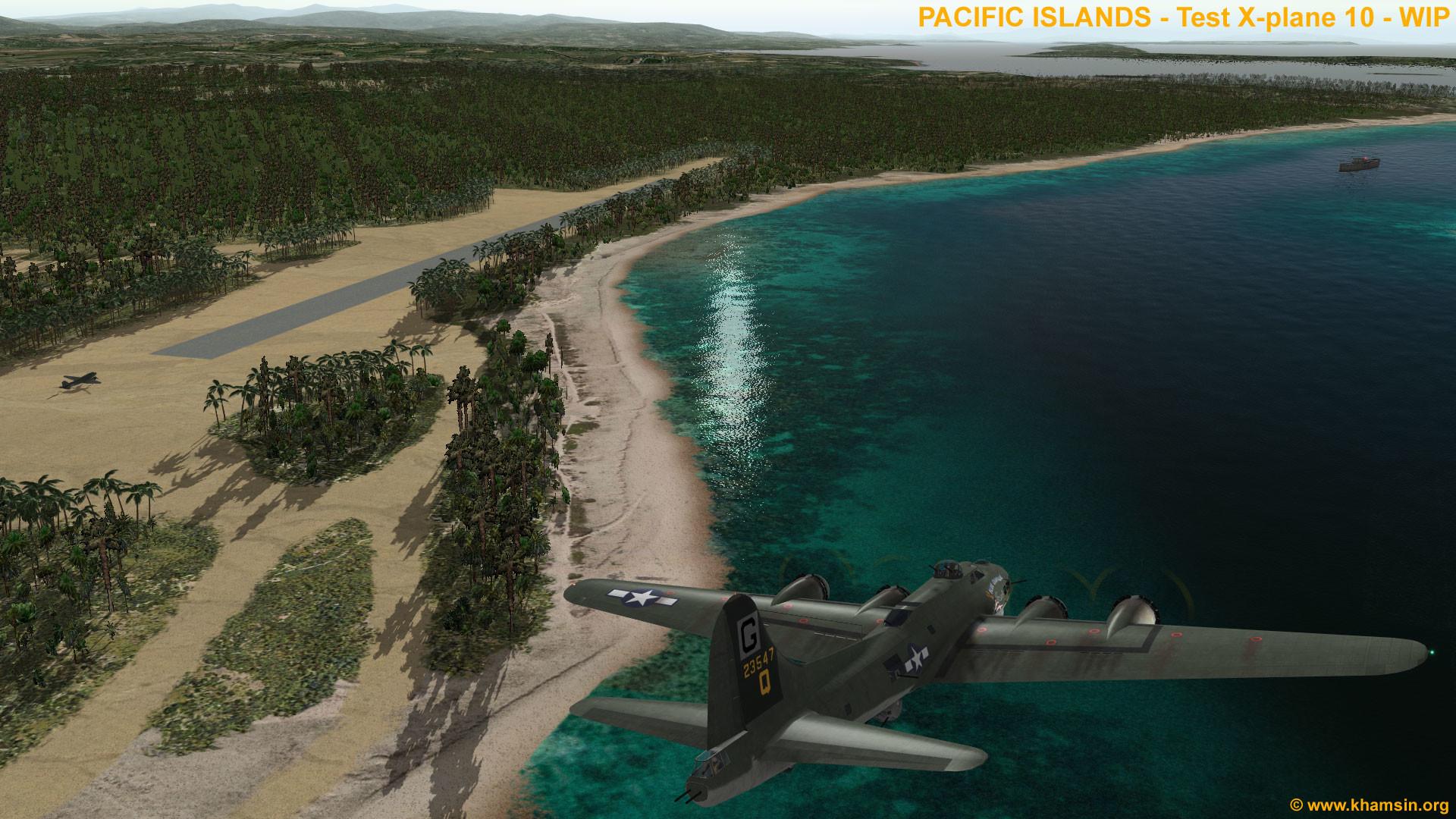 Res: 1920x1080, Pacific islands WW2 - Munda Airfield - Pacific Islands Airfields -  X-Plane.Org Forum