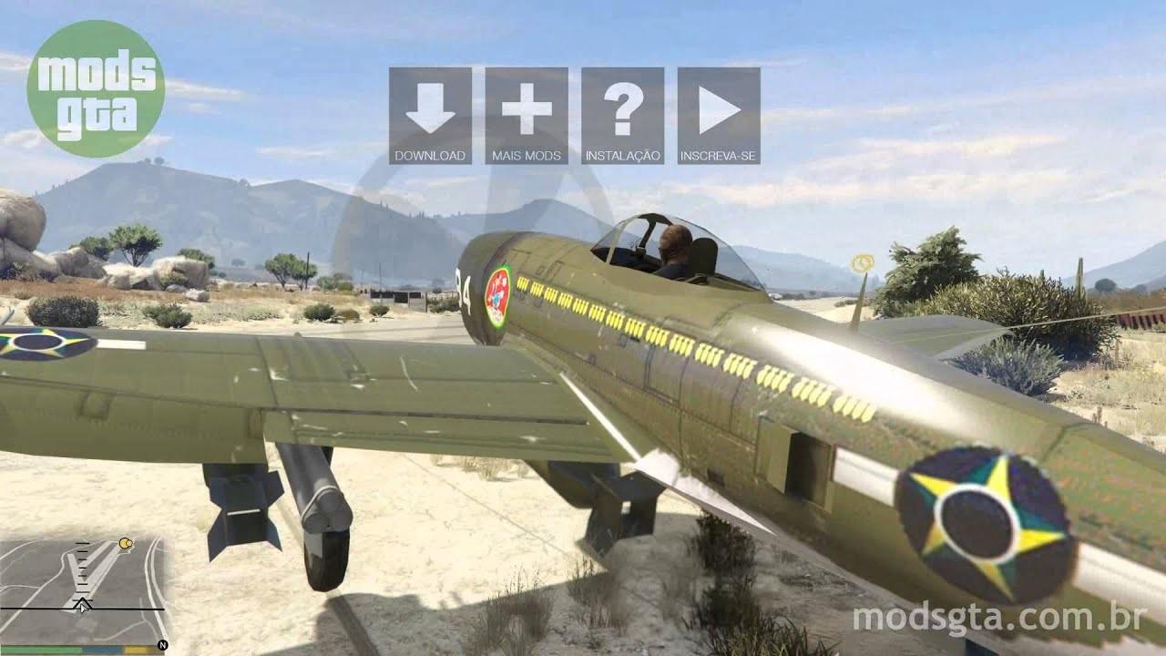 Res: 1920x1080, Mod do avião Republic P-47 Thunderbolt v2 para GTA 5
