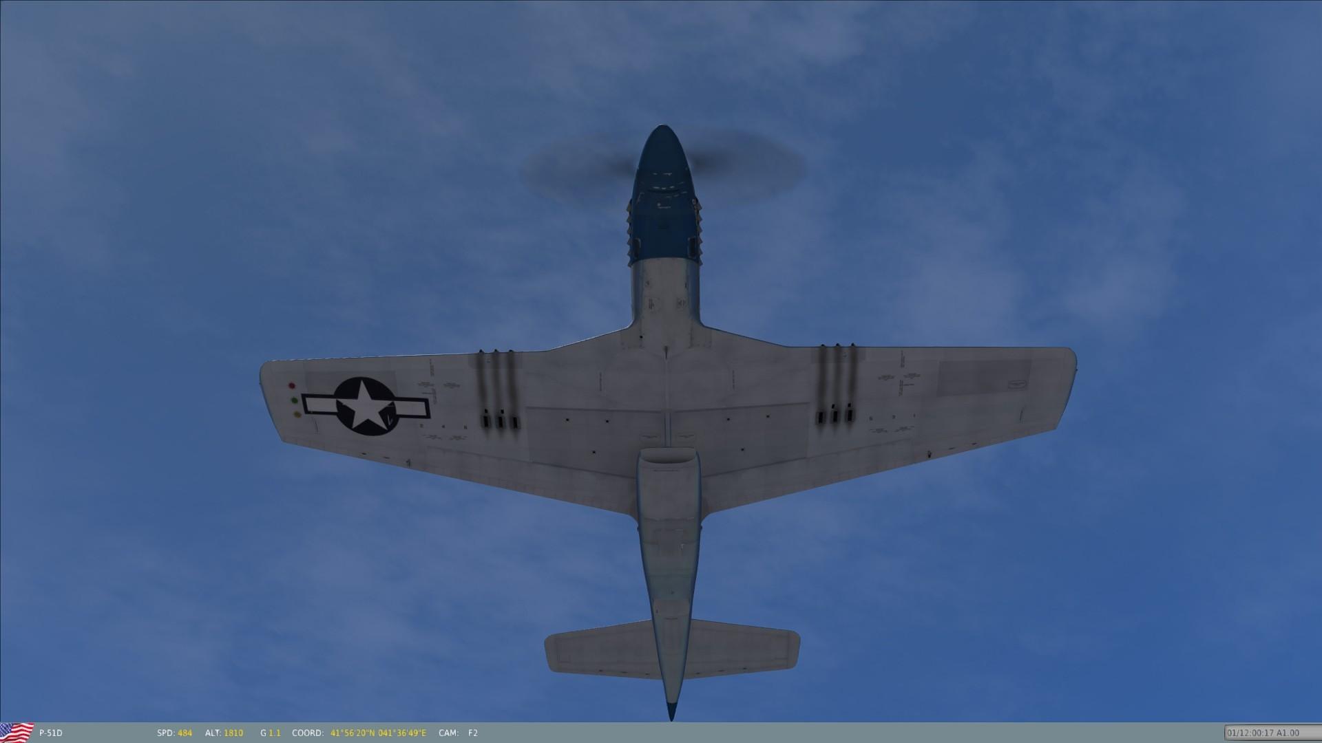 "Res: 1920x1080, P-51D "" ..."