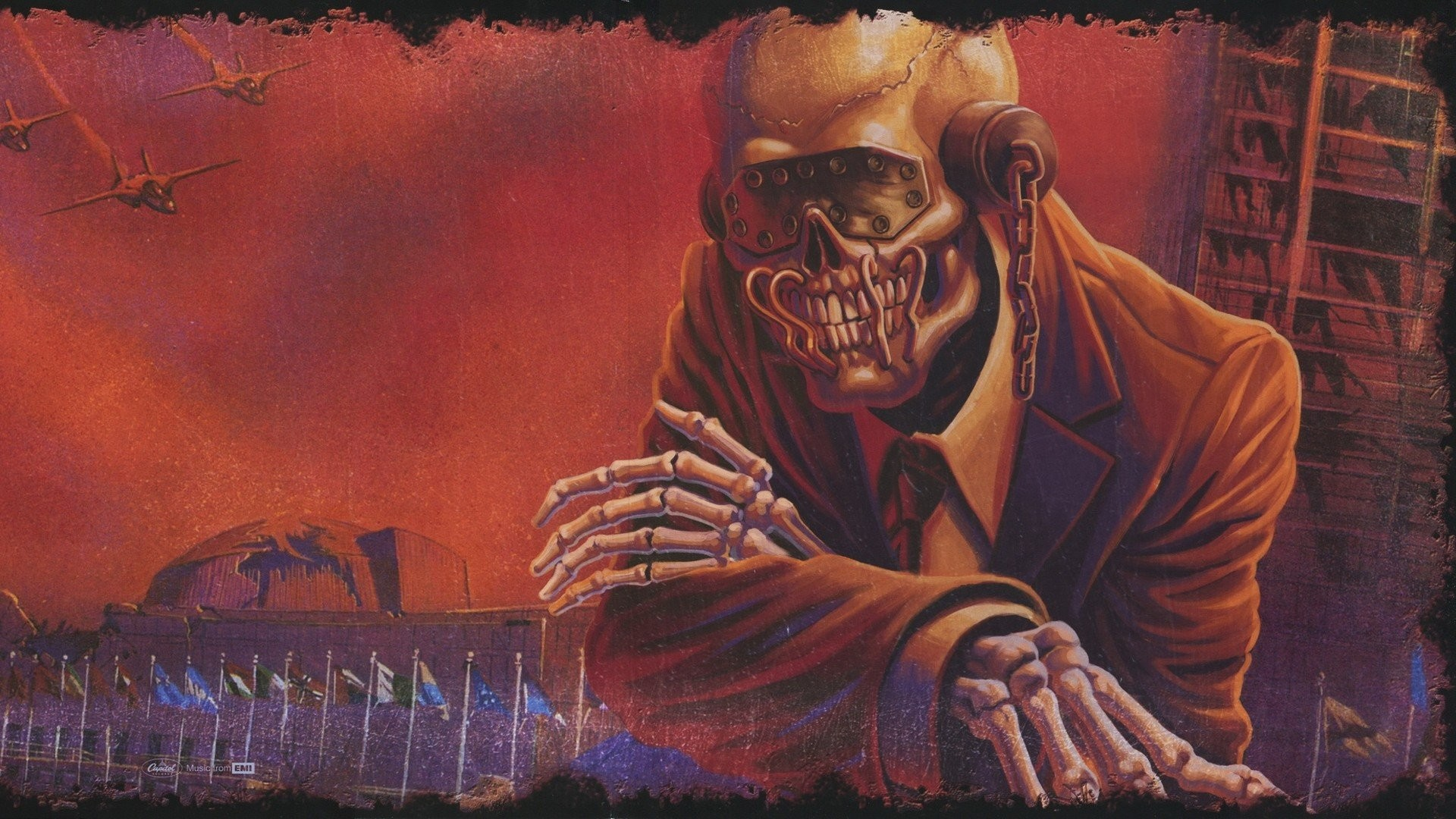 Res: 1920x1080, Megadeth, Band, Vic Rattlehead, Thrash metal, Big 4, Heavy metal, Dave  Mustaine HD Wallpapers / Desktop and Mobile Images & Photos