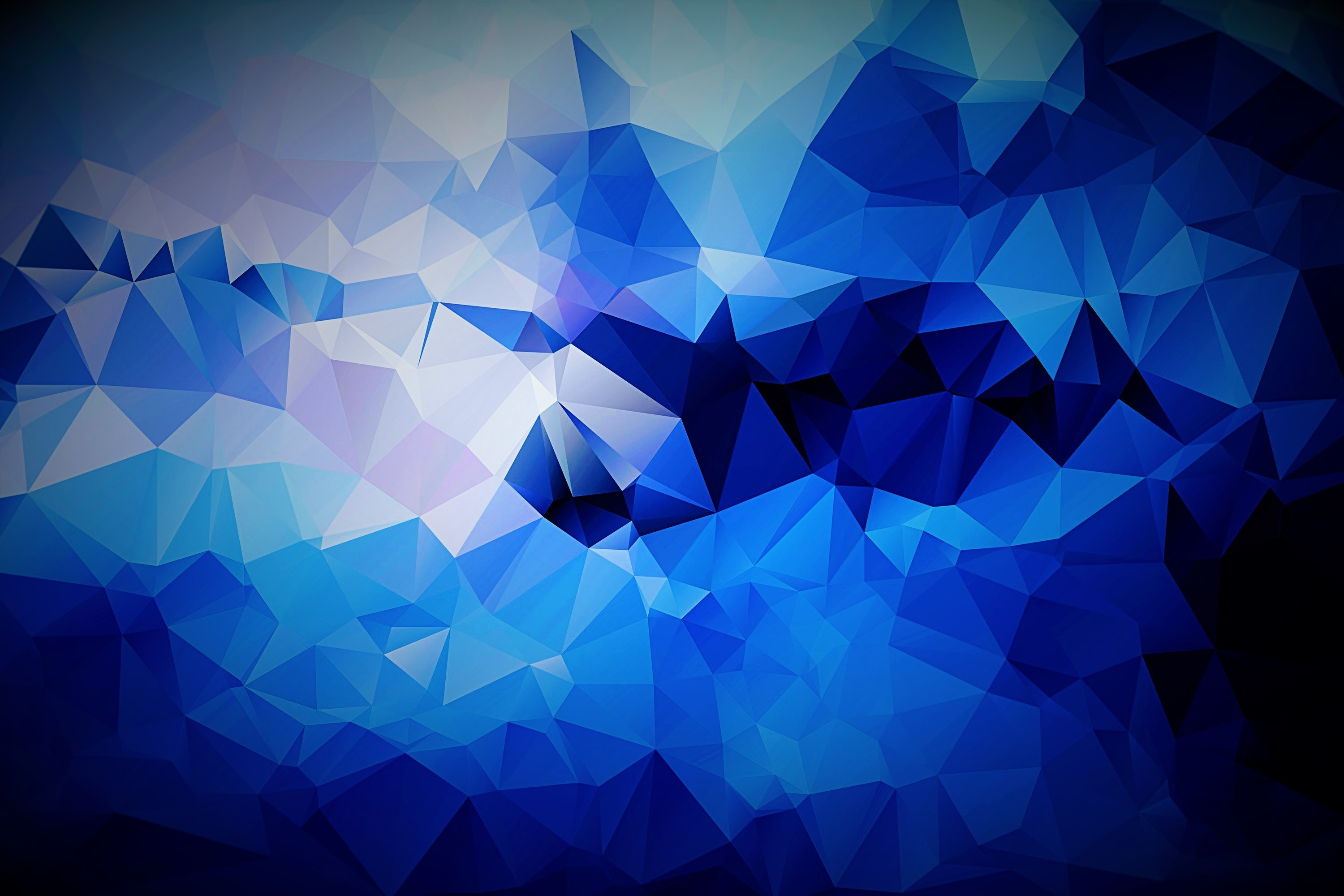 Res: 3000x2000, Abstract Blue Background Vector Wallpaper