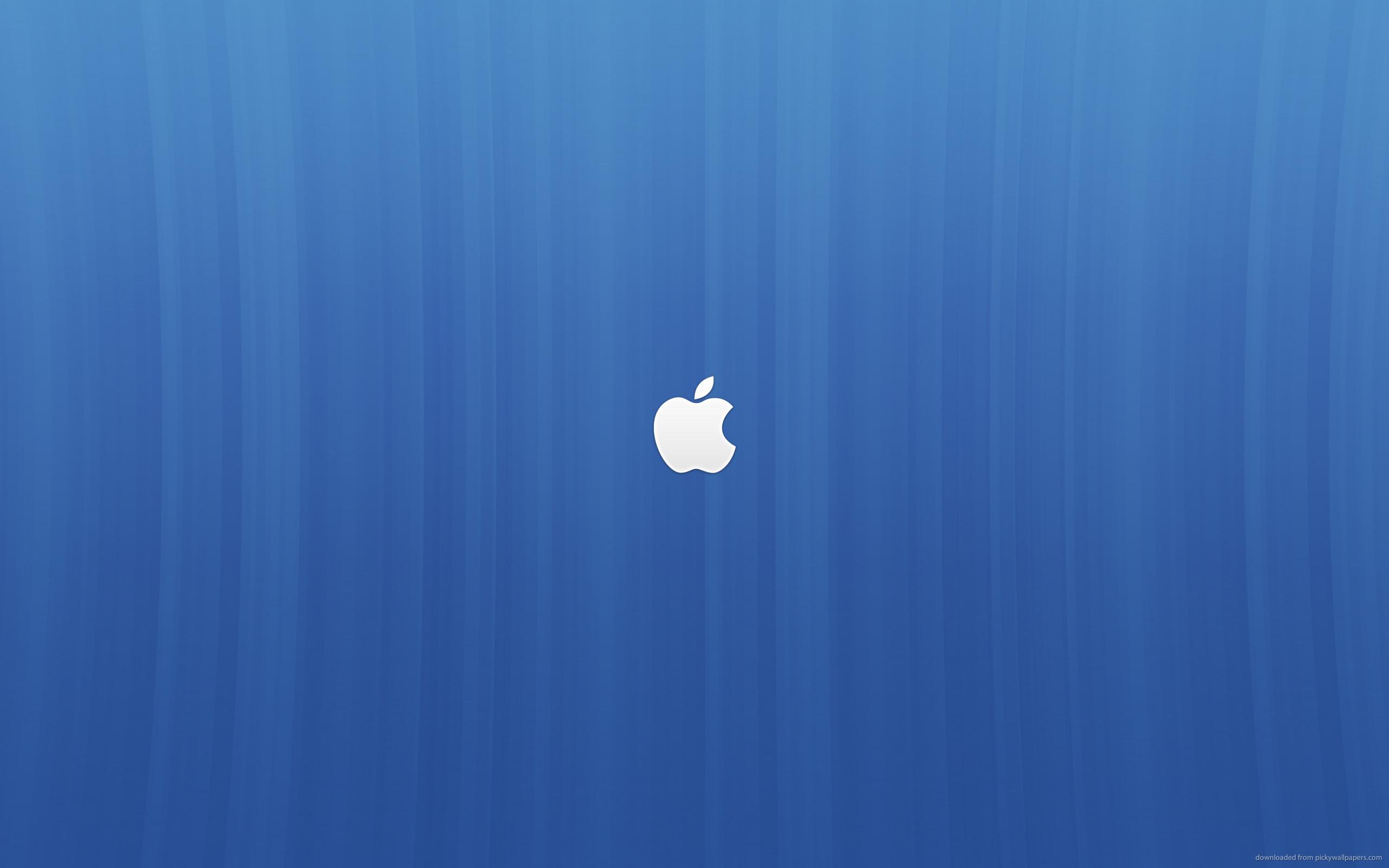 Res: 2560x1600, Blue Apple Backgrounds - WallpaperPulse