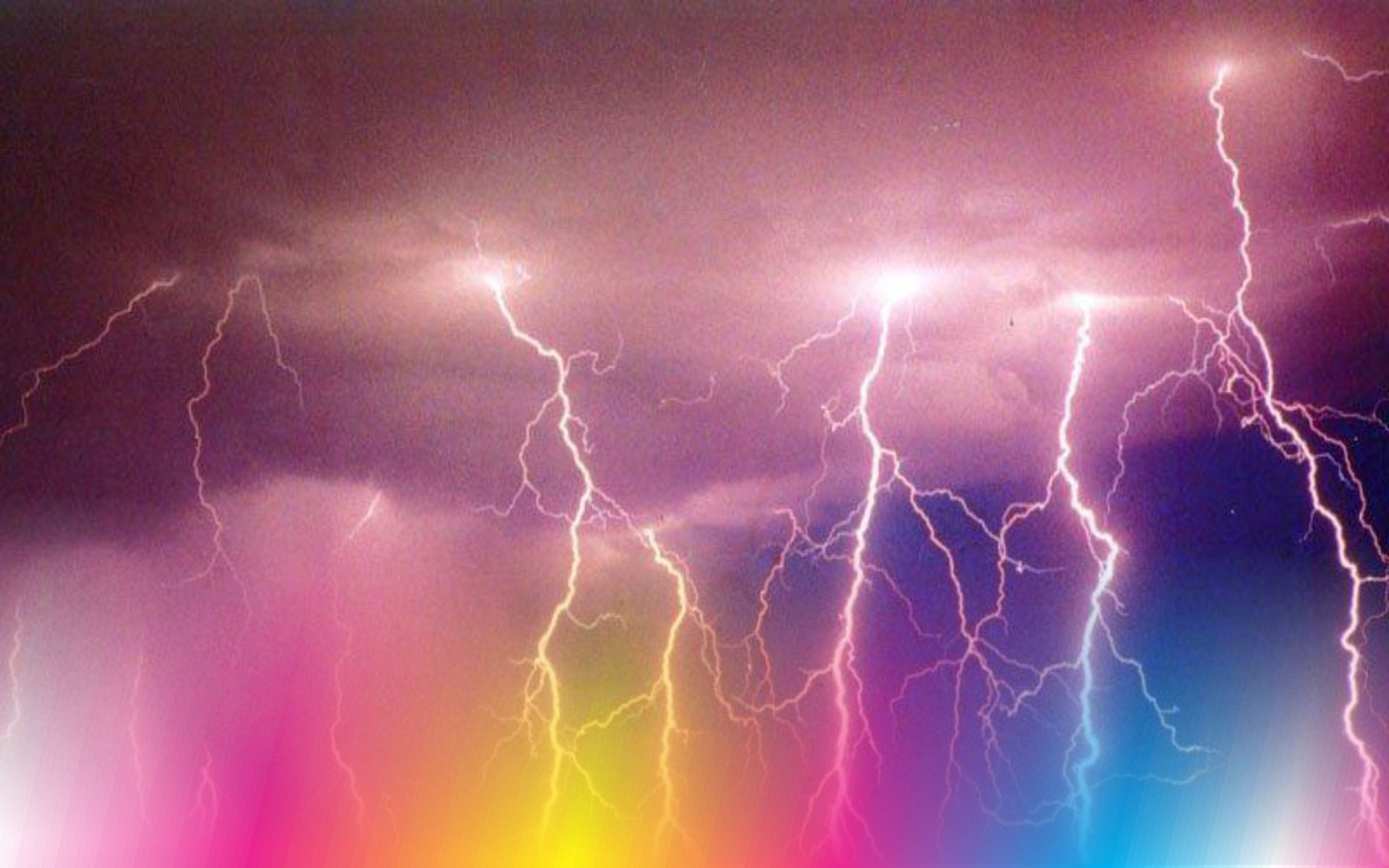 Res: 1920x1200, Wallpapers For > Pink Lightning Wallpaper Sky Watch, Storm Clouds, Lightning  Strikes,
