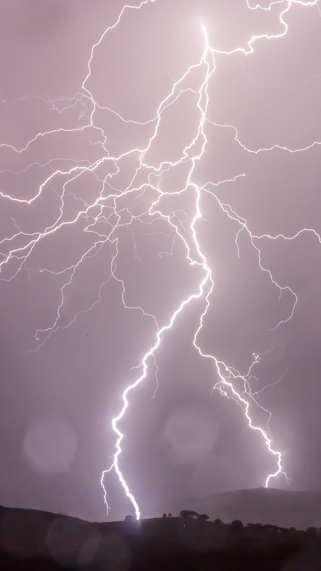 Res: 1080x1920, Lightning Strikes Phone Wallpaper