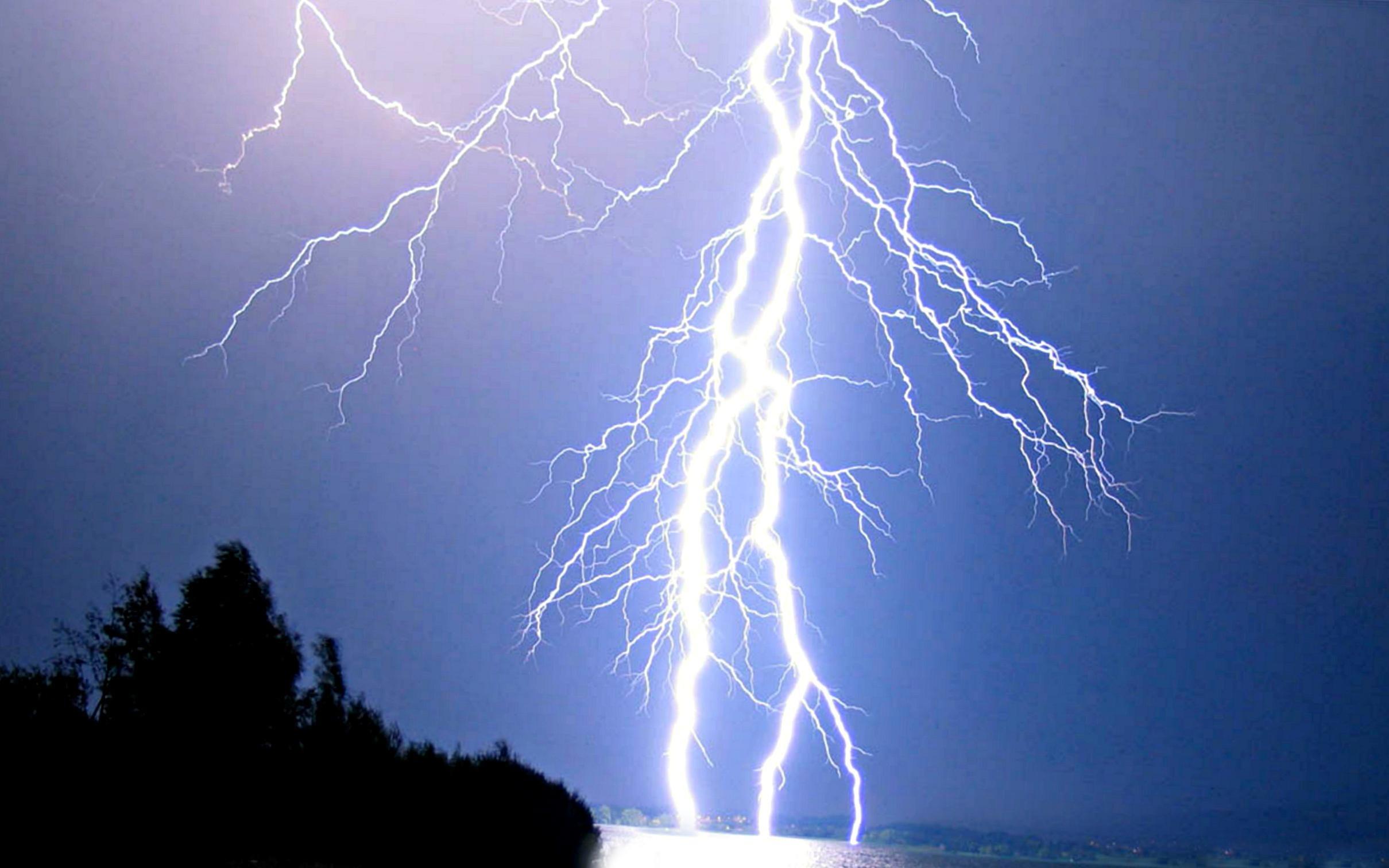 Res: 2419x1512,  Real Lightning Bolts Wallpaper