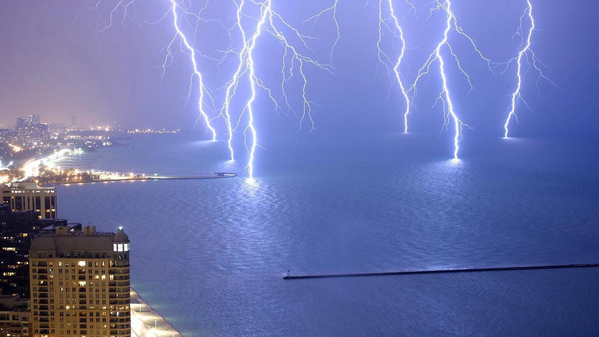 Res: 1920x1080, cool lightning wallpaper #165382