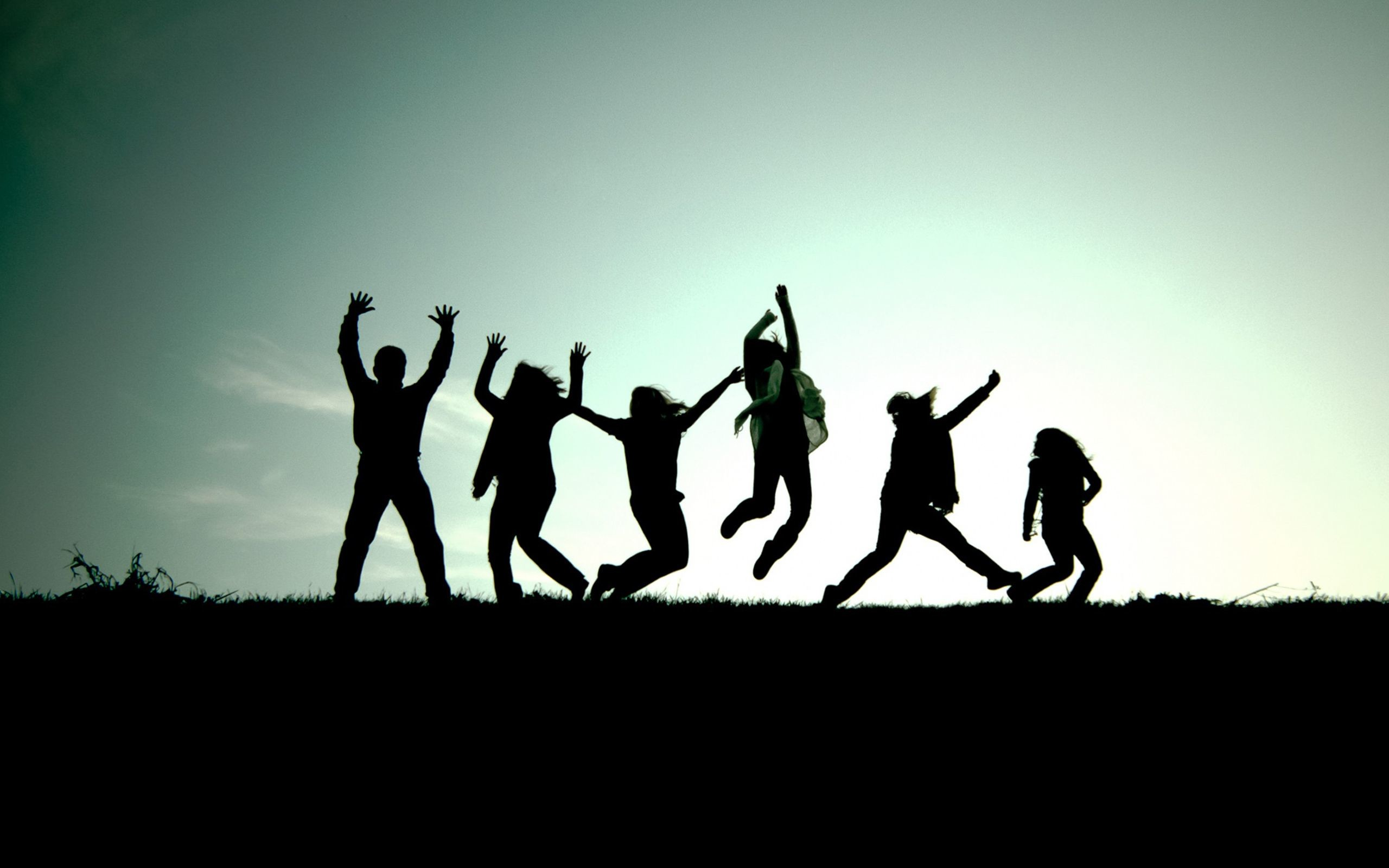 Res: 2560x1600,  20 Best Dance Wallpaper – No 7 Dance Picture – Jump in Silhouette