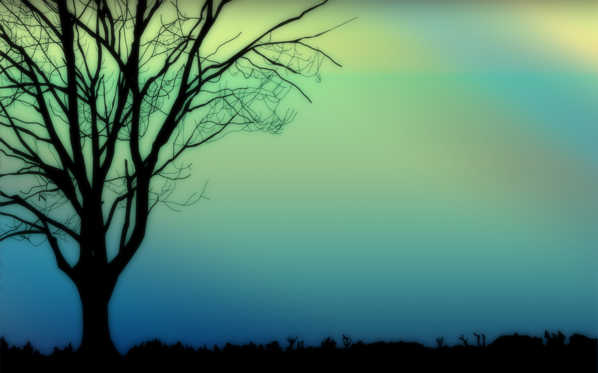 Res: 1920x1200, Nice Background Silhouette Wallpaper Wallpaper