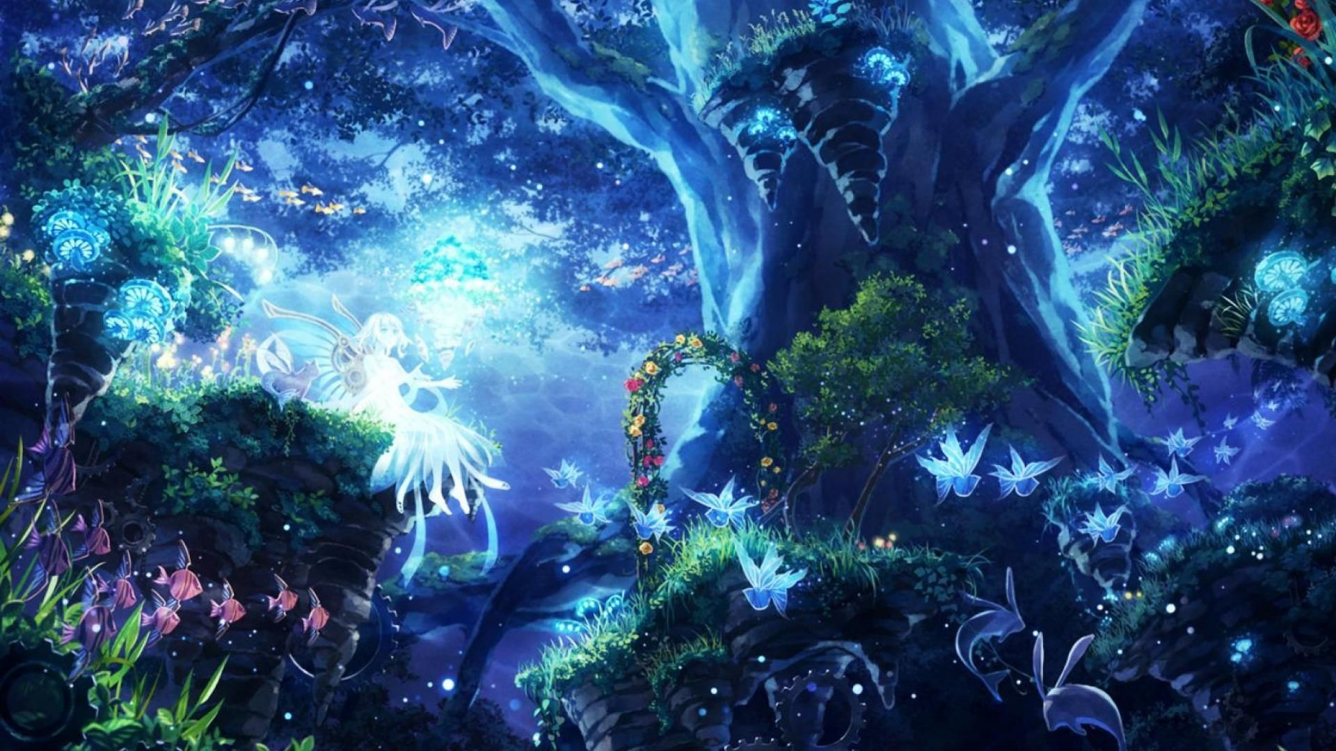 Res: 1920x1080, Fantasy World Wallpapers Wallpaper Zone