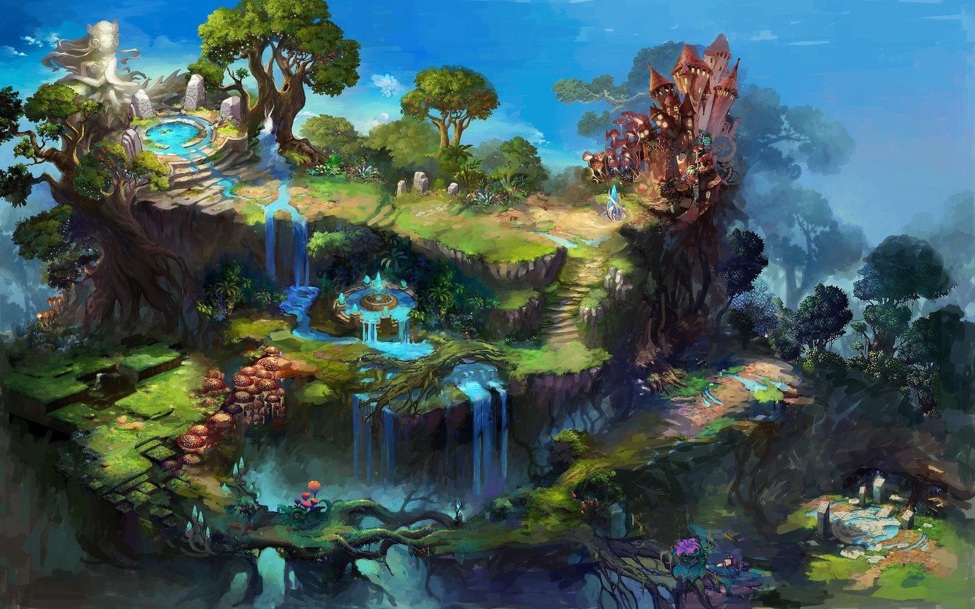 Res: 1920x1200, Fantasy Land HD Wallpaper For Desktop, Laptop & Mobile
