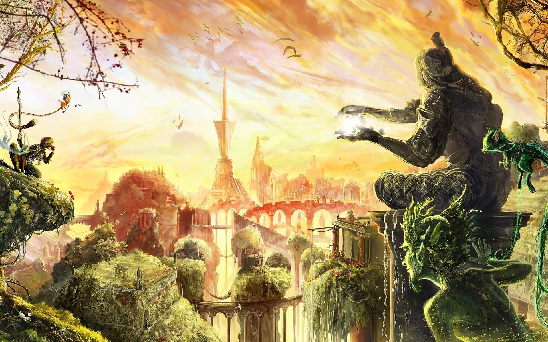 Res: 1920x1200, Fantasy world wallpaper