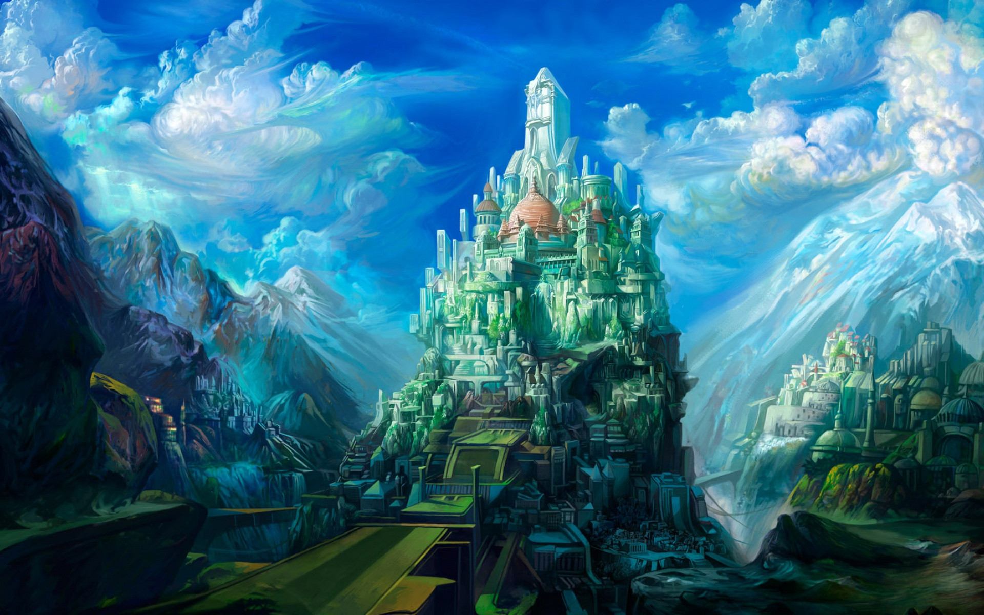 Res: 1920x1200, Fantasy World