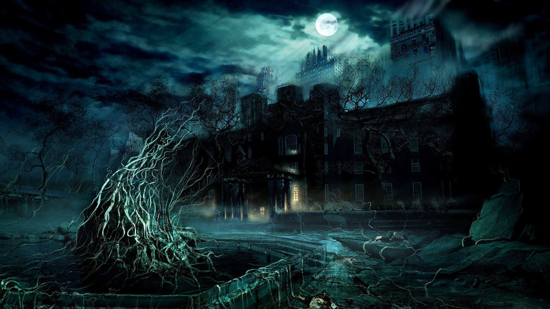 Res: 1920x1080, Fantasy World Wallpaper |HD [] ...
