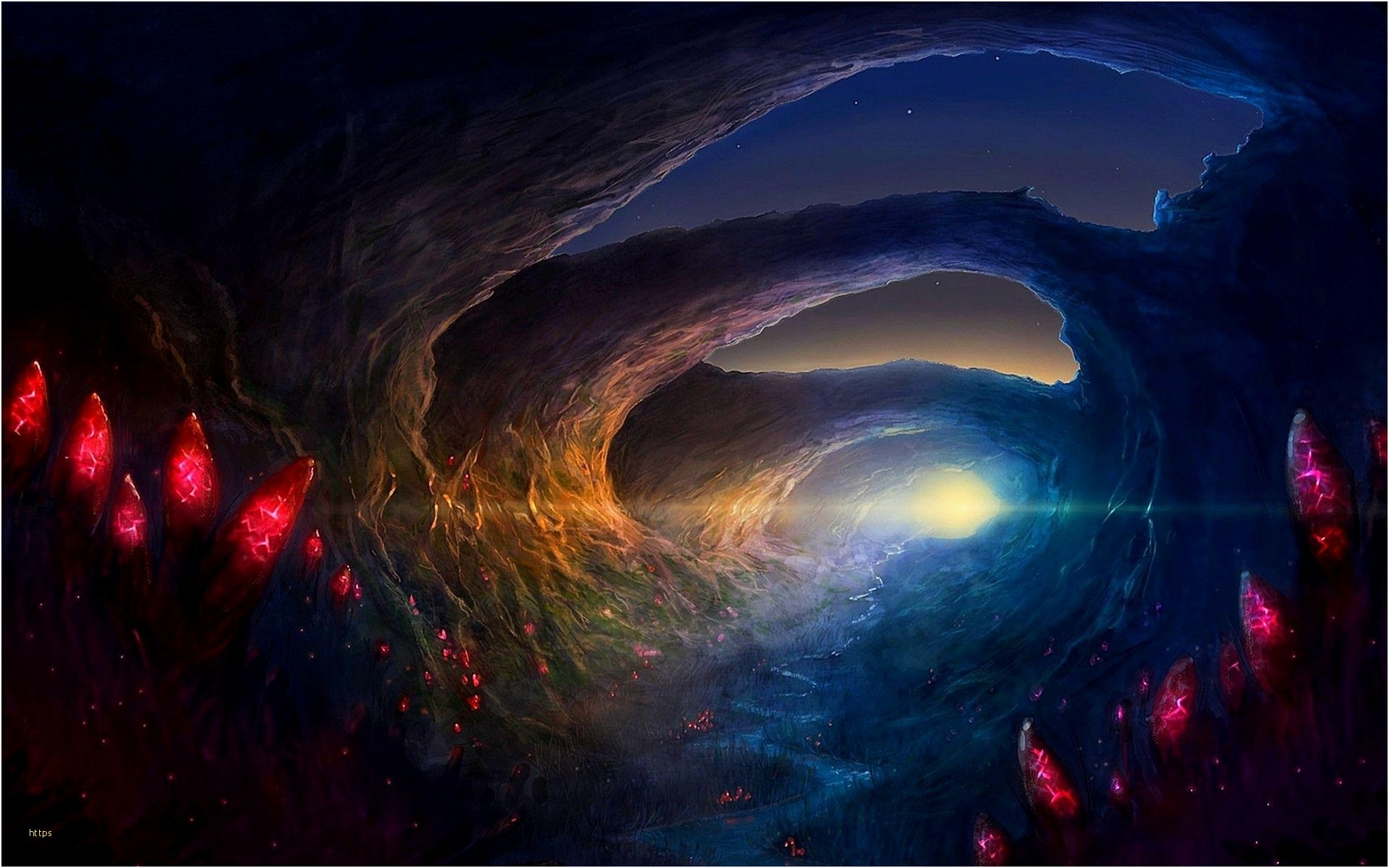 Res: 1920x1200, ... Fantasy Wallpaper Awesome Fantasy World Wallpapers Wallpaper Cave ...