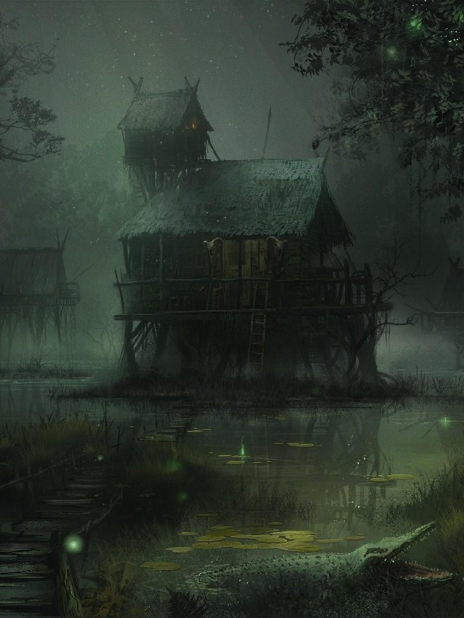 Res: 1536x2048, Dark Theme, Fantasy World