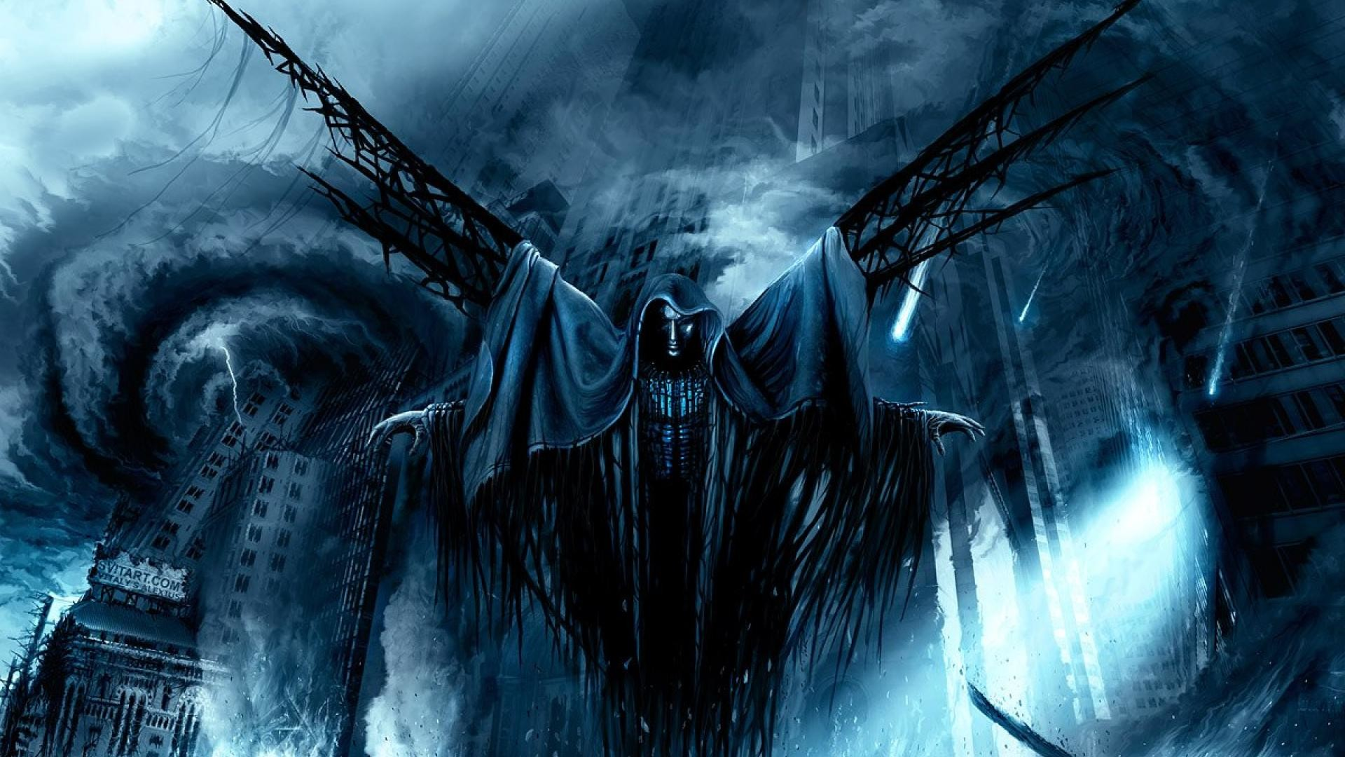 Res: 1920x1080,  Fantasy World Apocalyptic Death Angel HD Wallpaper Wallpaper ...  - HD Wallpapers,