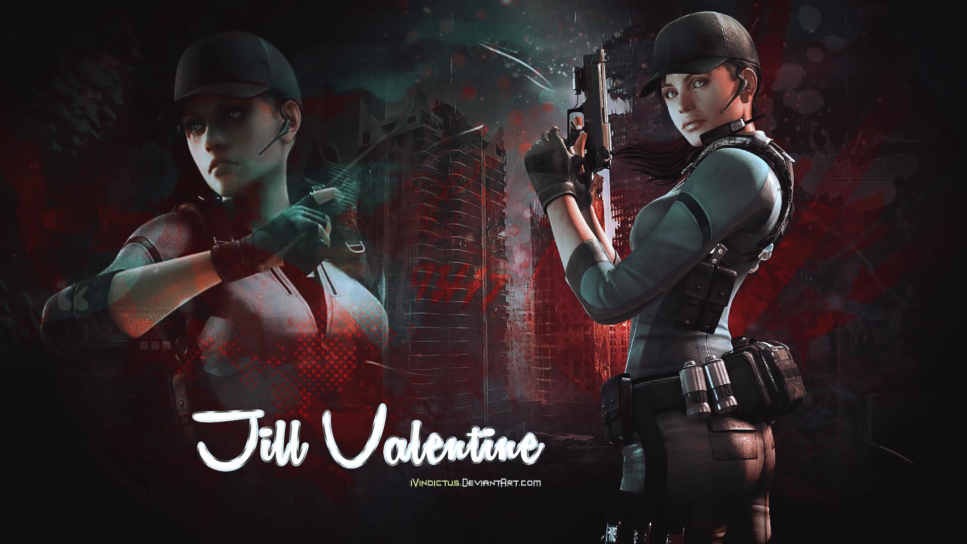 Res: 1920x1080, Re5 Jill Valentine