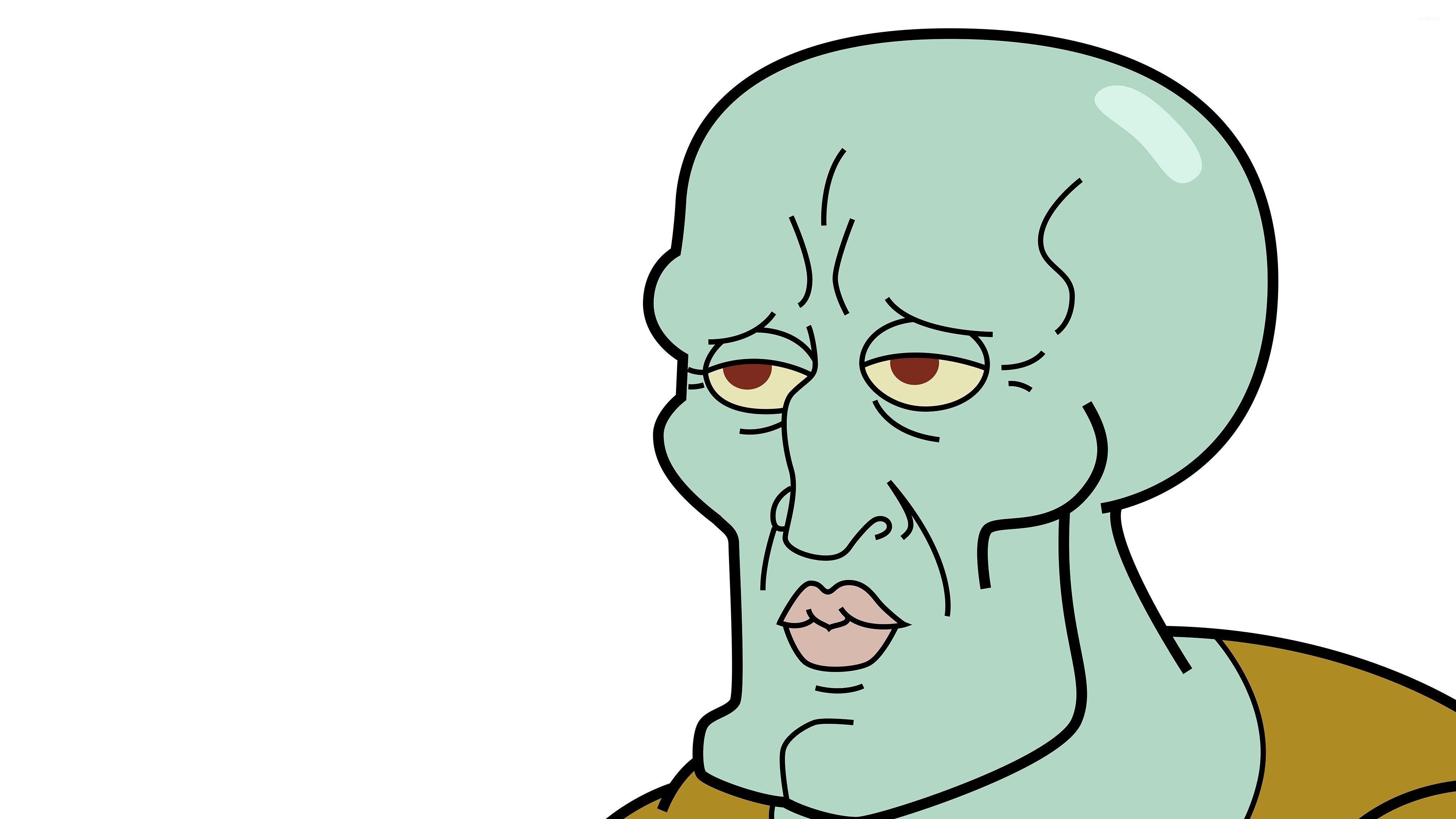 Res: 3840x2160, Handsome Squidward wallpaper