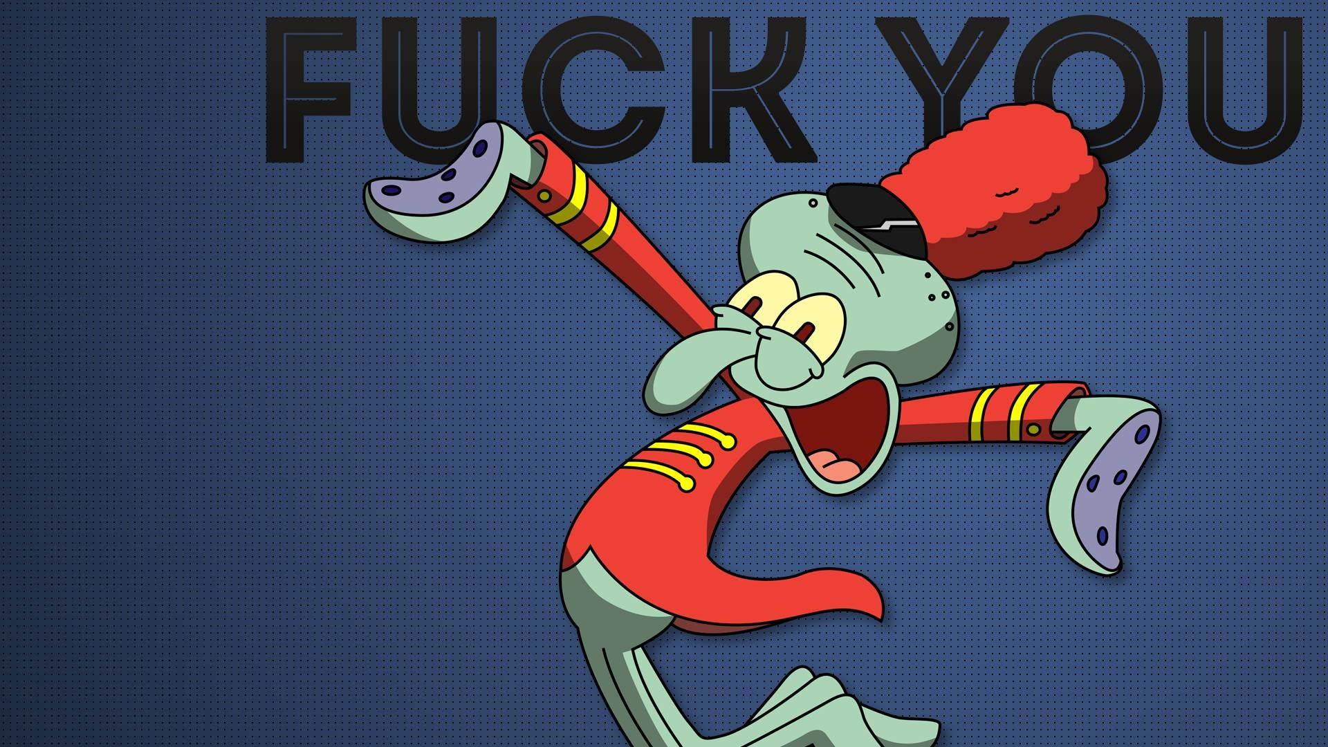 Res: 1920x1080, Spongebob Squarepants Squidward Blue wtf sadic wallpaper |  |  98275 | WallpaperUP