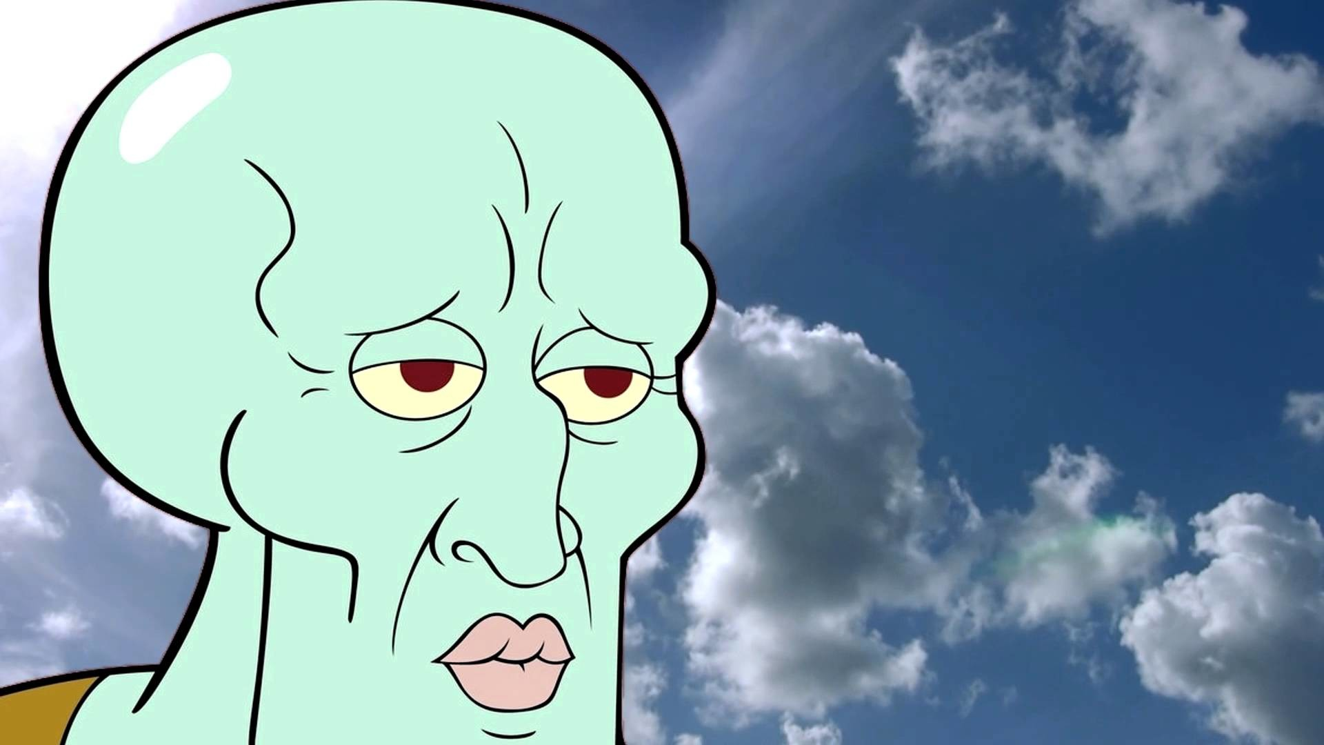 Res: 1920x1080, Handsome Squidward Wallpaper