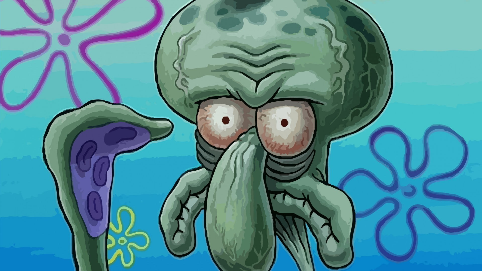 Res: 1920x1080, squidward ...