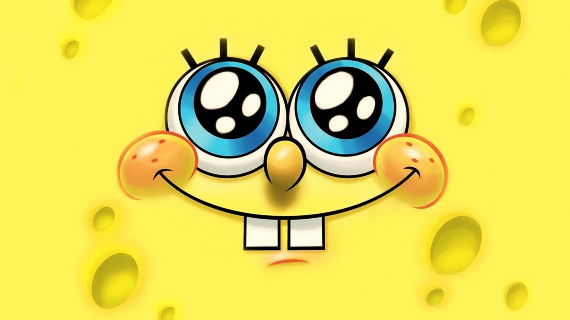Res: 1920x1080, Patrick Star, Television, Squidward Tentacles, Text, Yellow HD Wallpaper,  Movies Picture, Background and Image