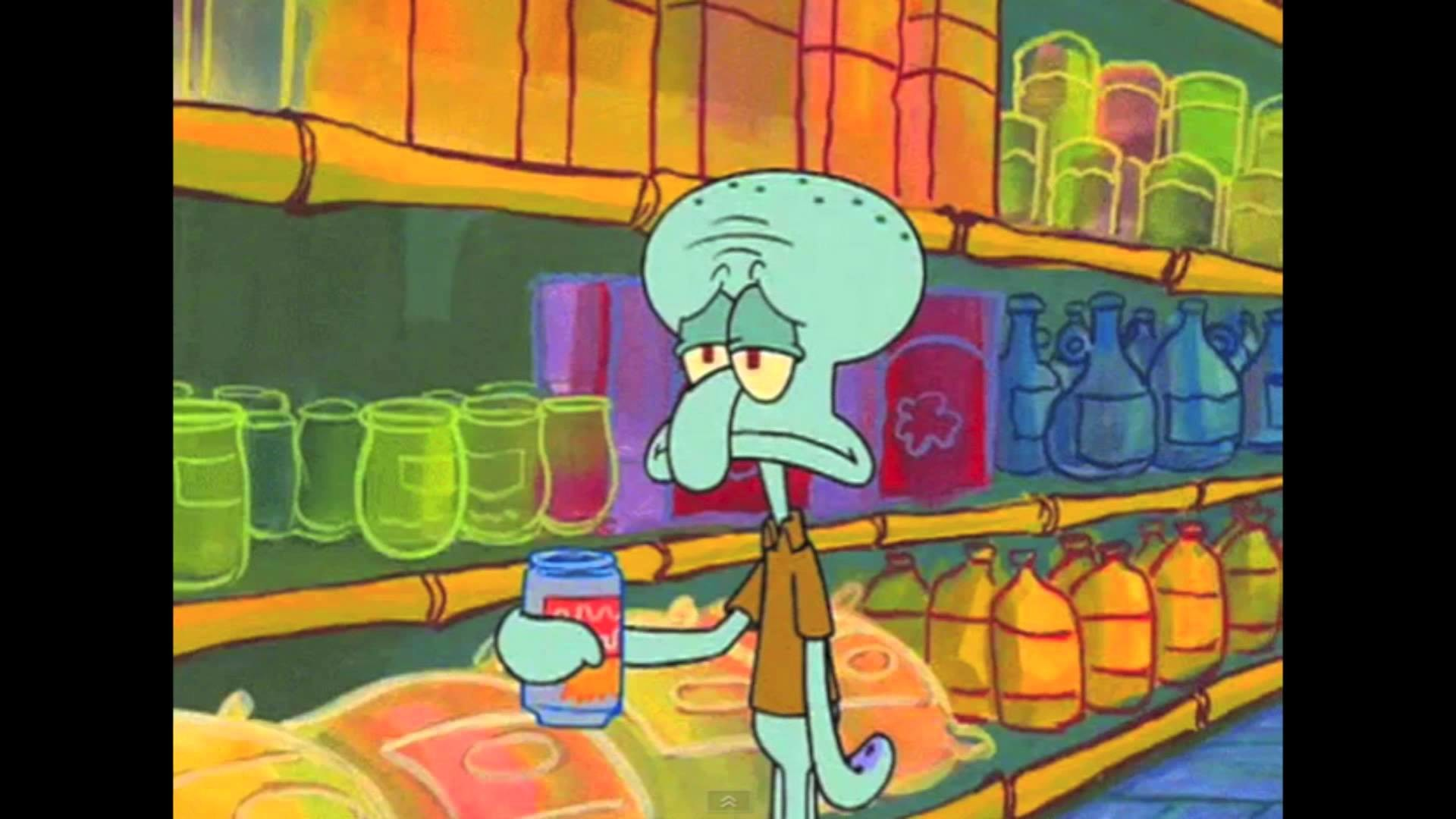Res: 1920x1080, Squidward Mad World