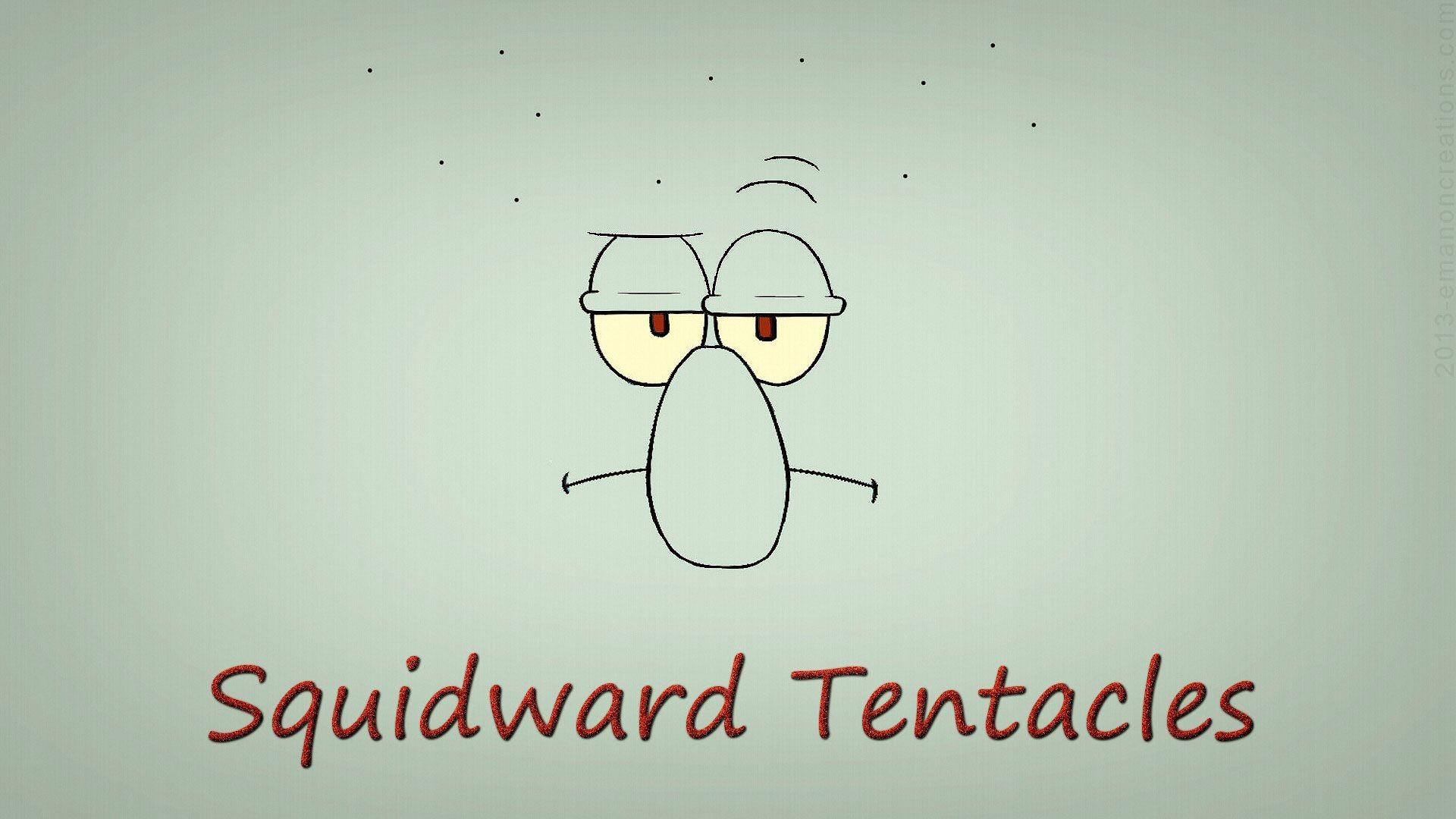 Res: 1920x1080, Squidward Tentacles - wallpaper HD