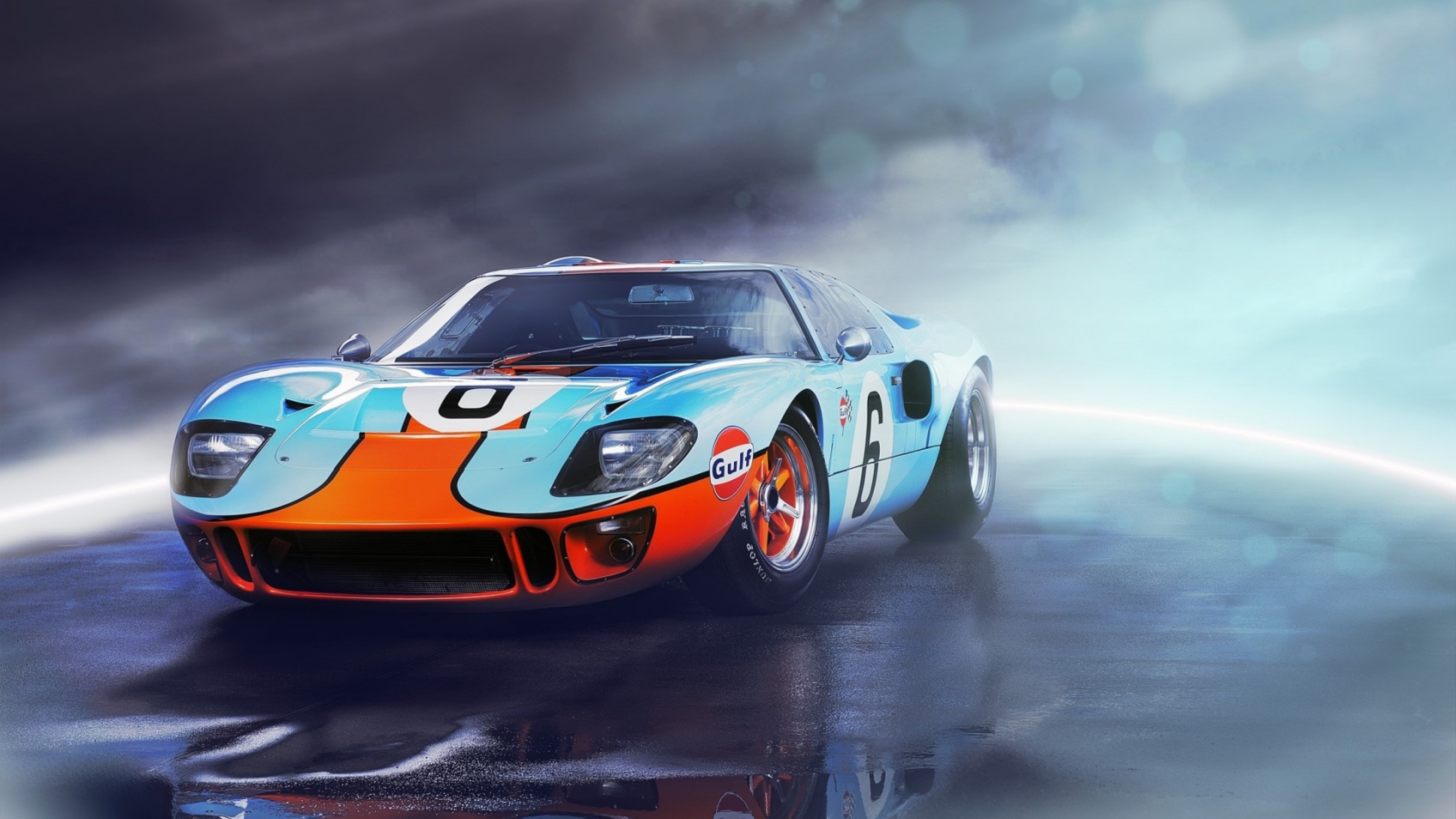 Res: 3840x2160, Ford Gt40 Wallpaper