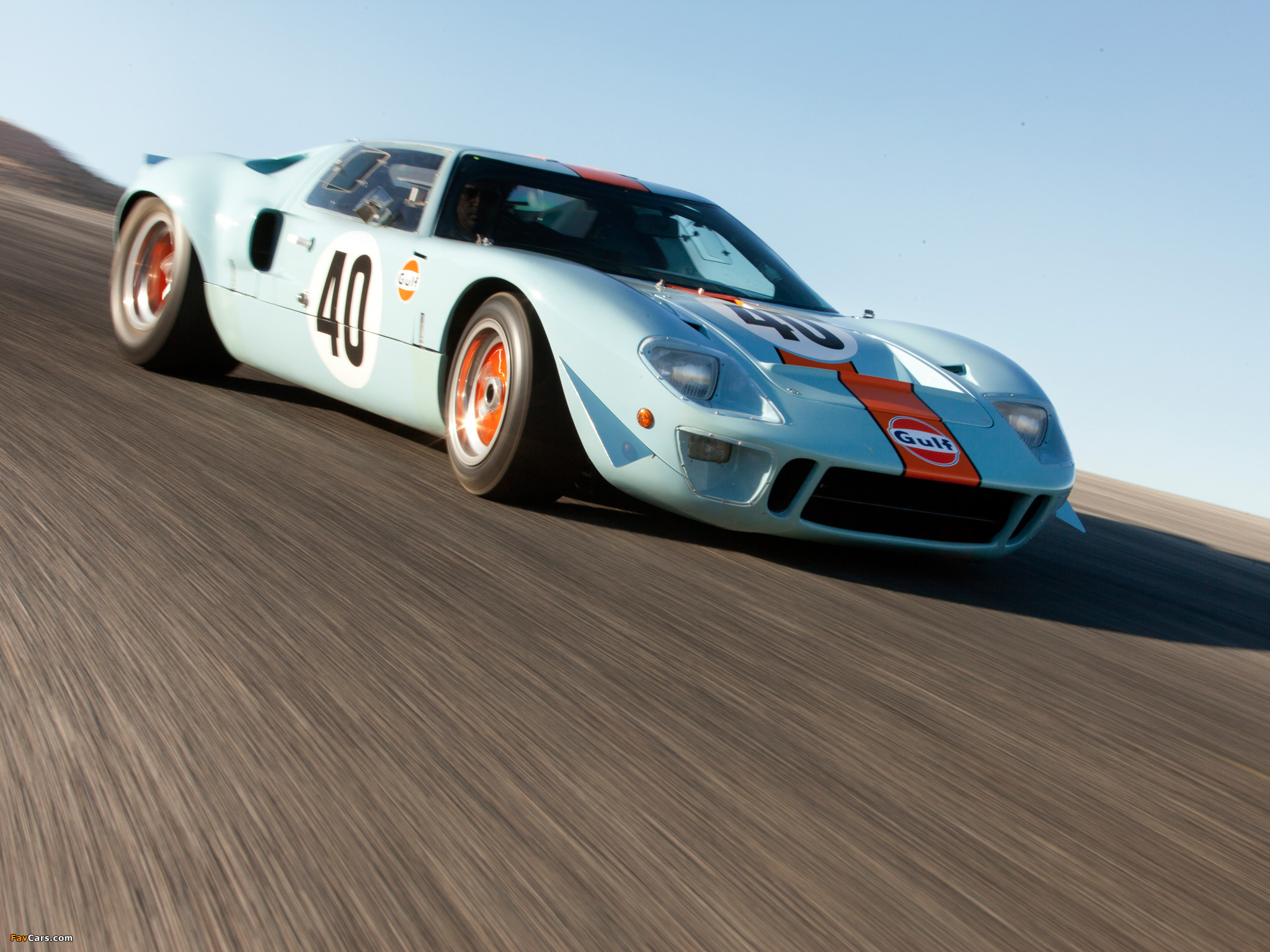 Res: 2048x1536, Ford GT40 Gulf Oil Le Mans 1968 wallpapers (2048 x 1536)