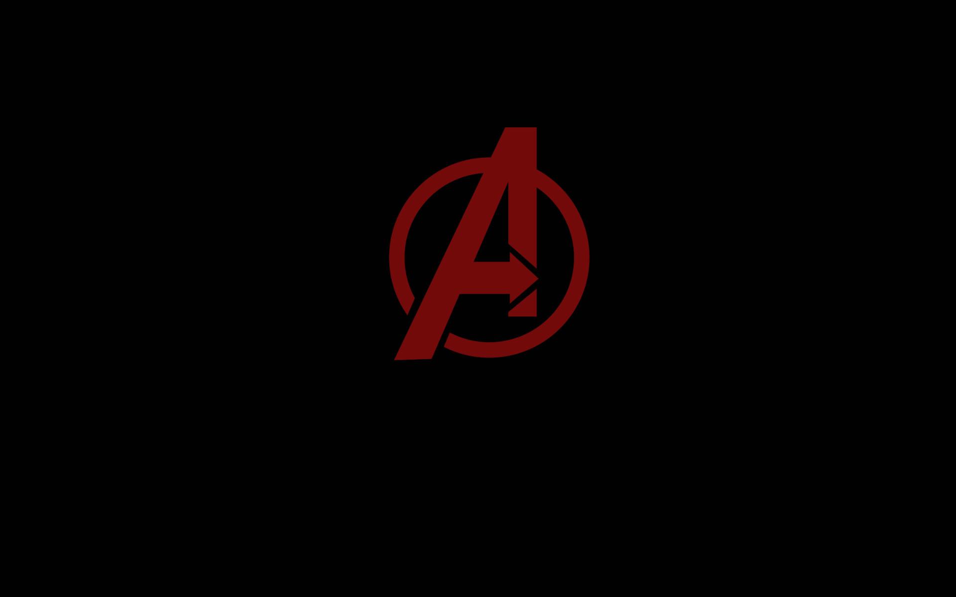 Res: 1920x1200, Avengers Minimal Logo