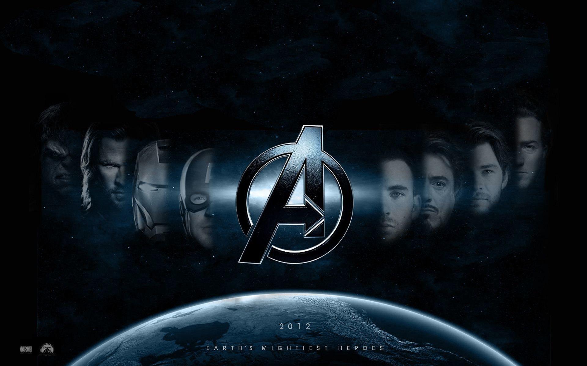 Res: 1920x1200, Avengers Logo Wallpaper