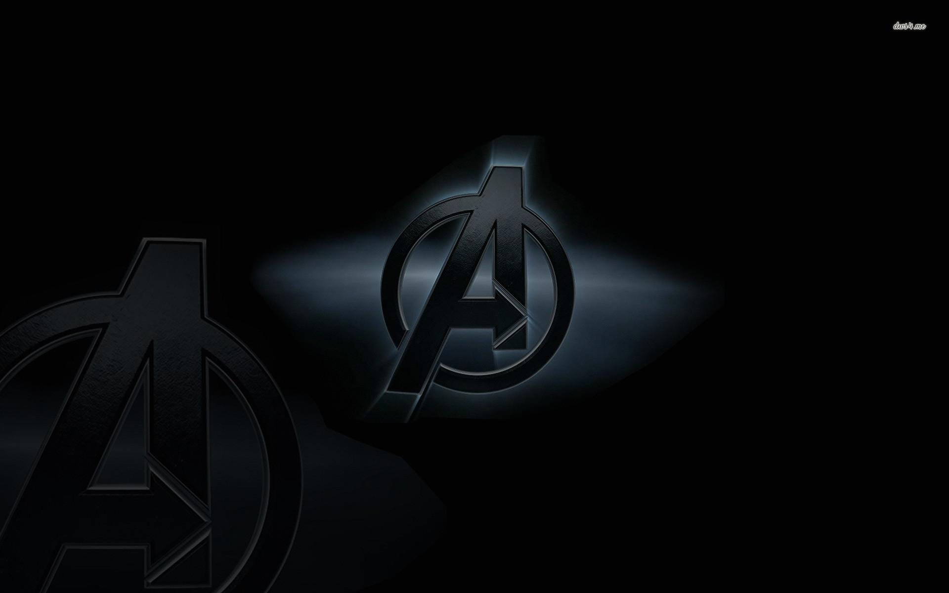 Res: 1920x1200, ... The Avengers Logo wallpaper  ...