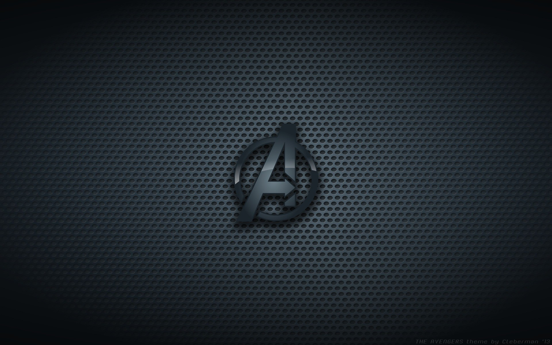 Res: 1920x1200, The Avengers Black Logo Wallpaper 39909