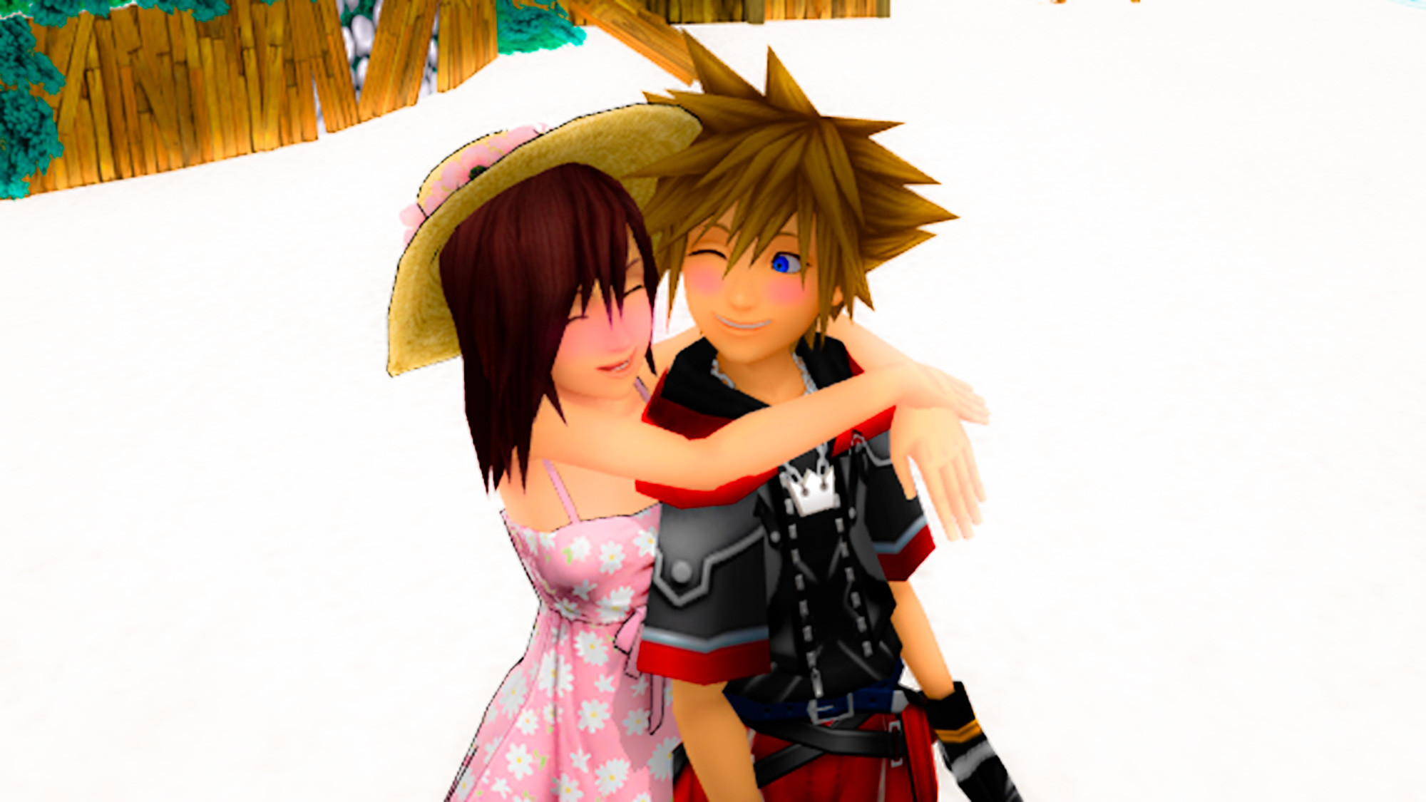 Res: 2000x1125, Kairi & Sora images Sora and Kairi Destiny Islands. Love edited HD wallpaper  and background photos