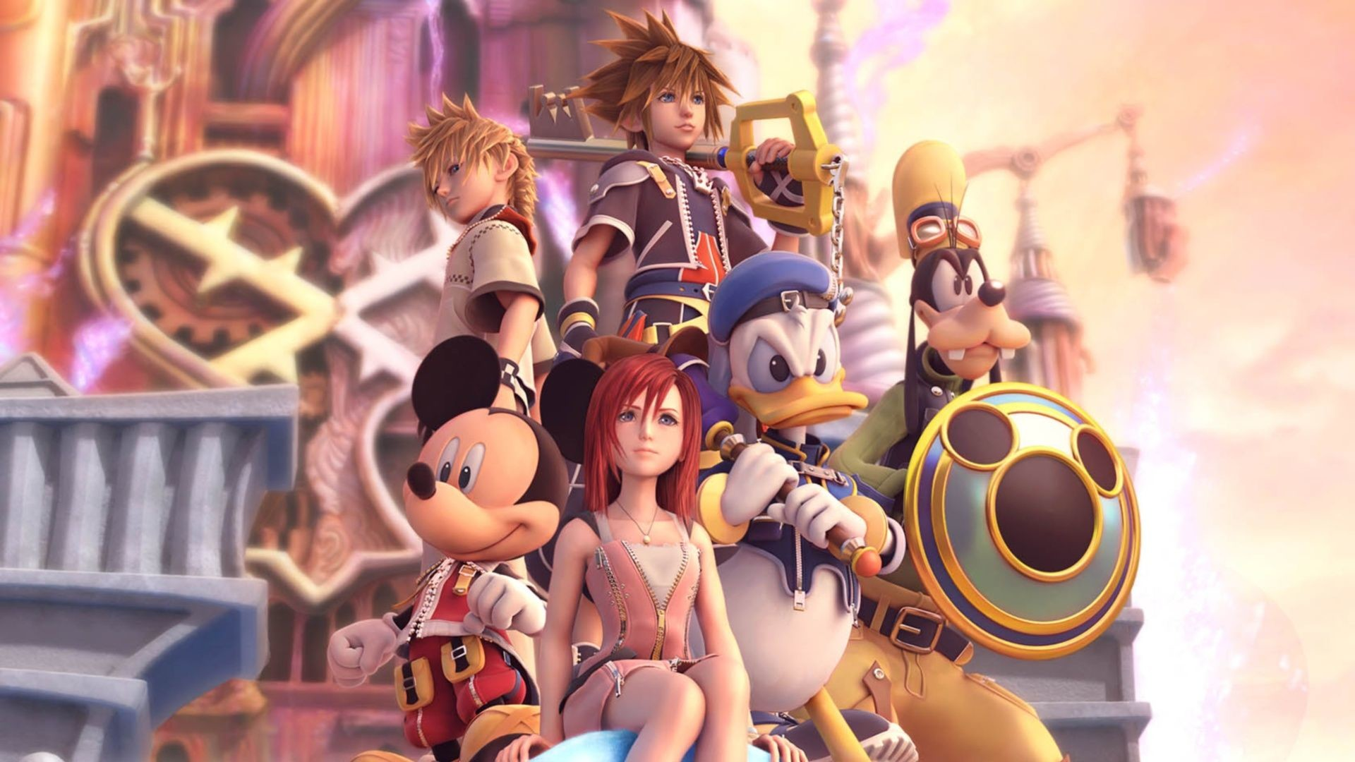 Res: 1920x1080, #Kingdom #Hearts [Gaming] #Sora #Kairi #Roxas #Mickey #