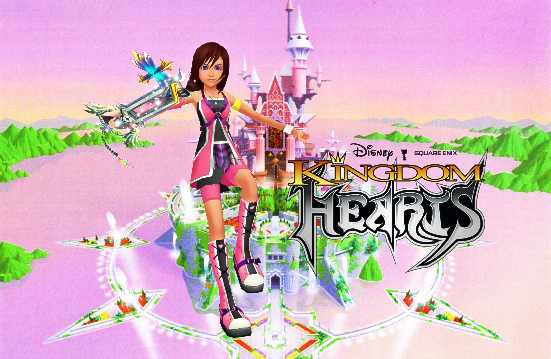 Res: 2202x1437, ... KH ReImagined Promo Wallpaper - Kairi by todsen19