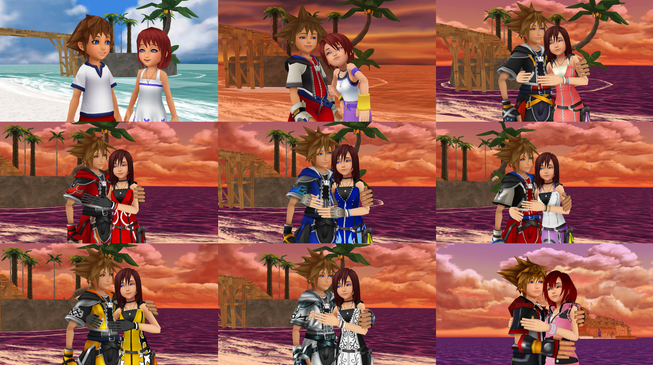 Res: 2239x1251, Kairi & Sora images SoraxKairi Sky and Sea Form KHBSS KHI KHII KHIII HD  wallpaper and background photos