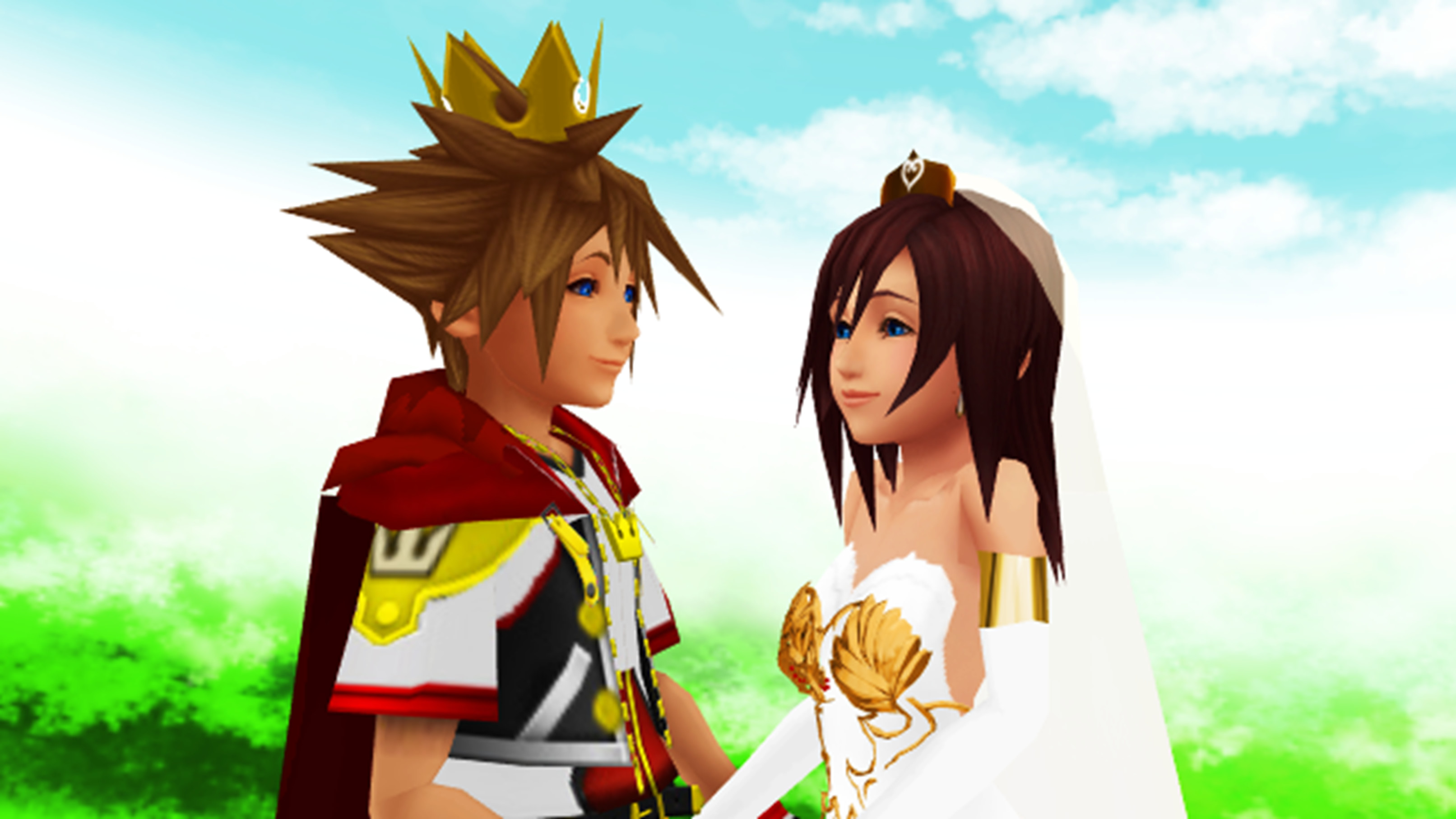 Res: 3226x1815, kingdom-hearts-sora-and-kairi-wallpaper