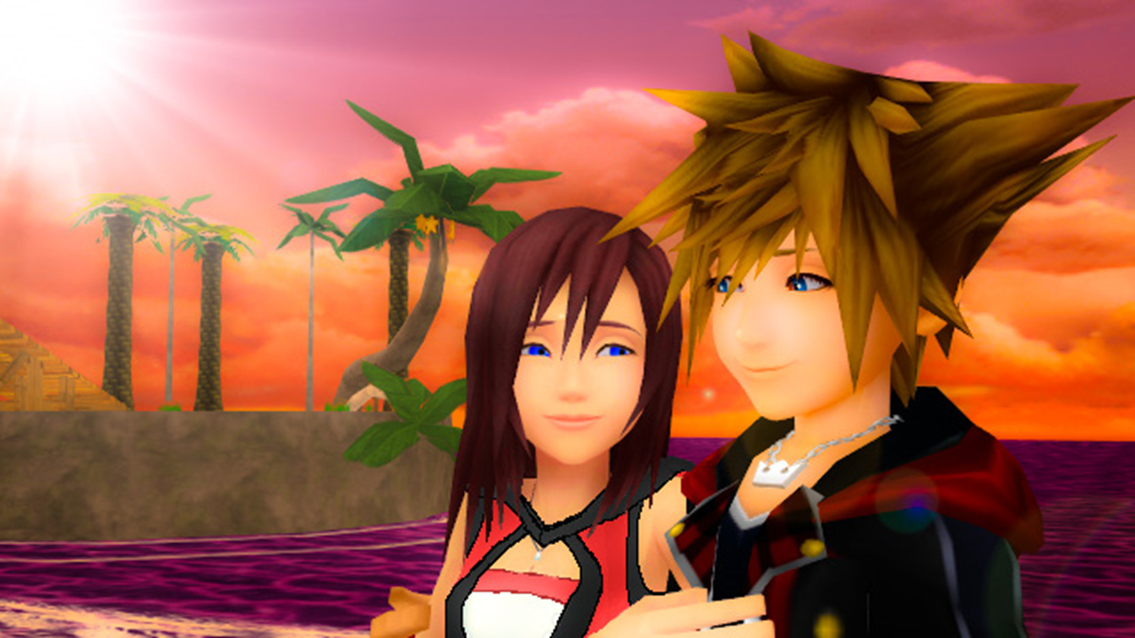 Res: 2246x1262, ... We Made a Promise Sora x Kairi KH3... by 9029561